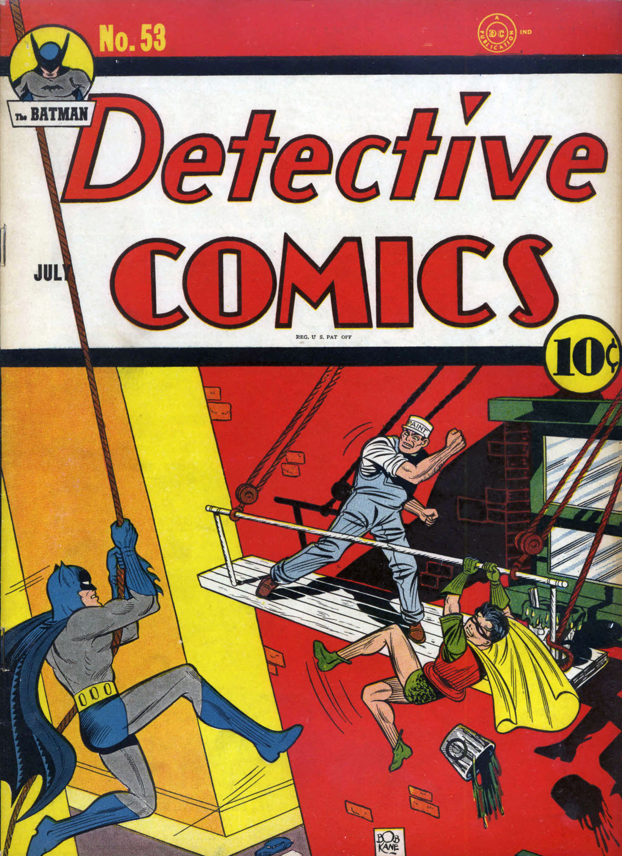 Detective Comics (1937) 53 Page 1