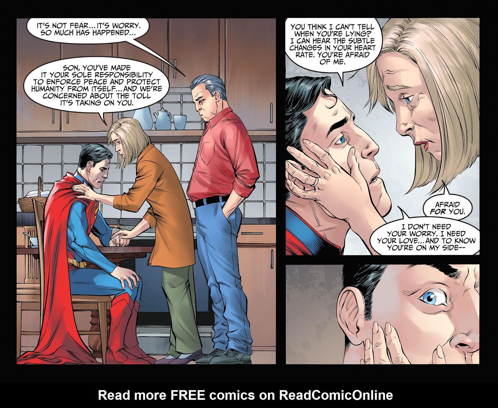 Injustice: Gods Among Us Year Four Issue #3 #4 - English 11