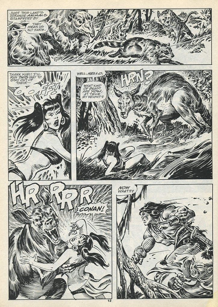 The Savage Sword Of Conan Issue #193 #194 - English 14