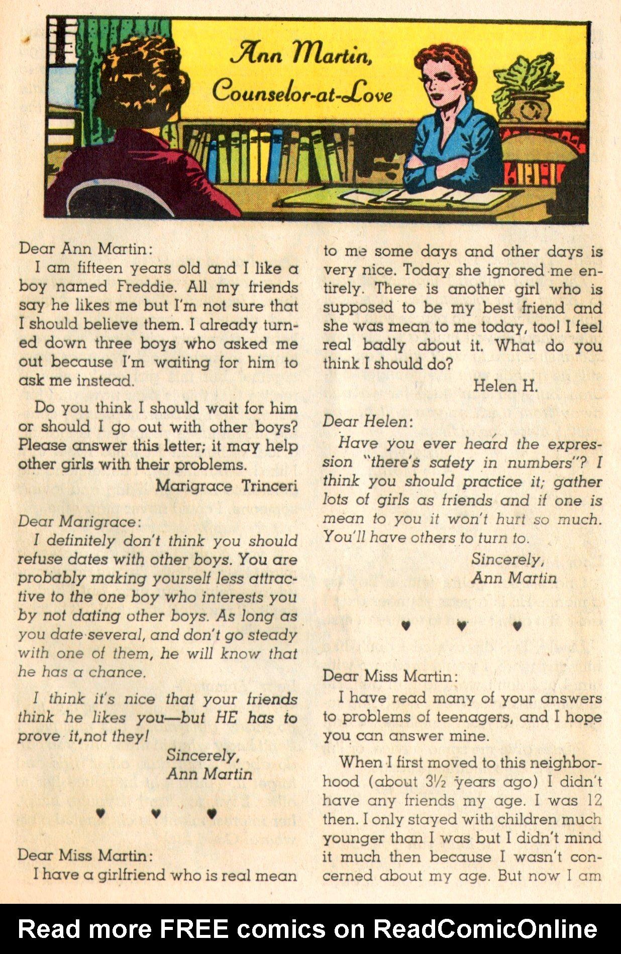 Read online Secret Hearts comic -  Issue #84 - 25