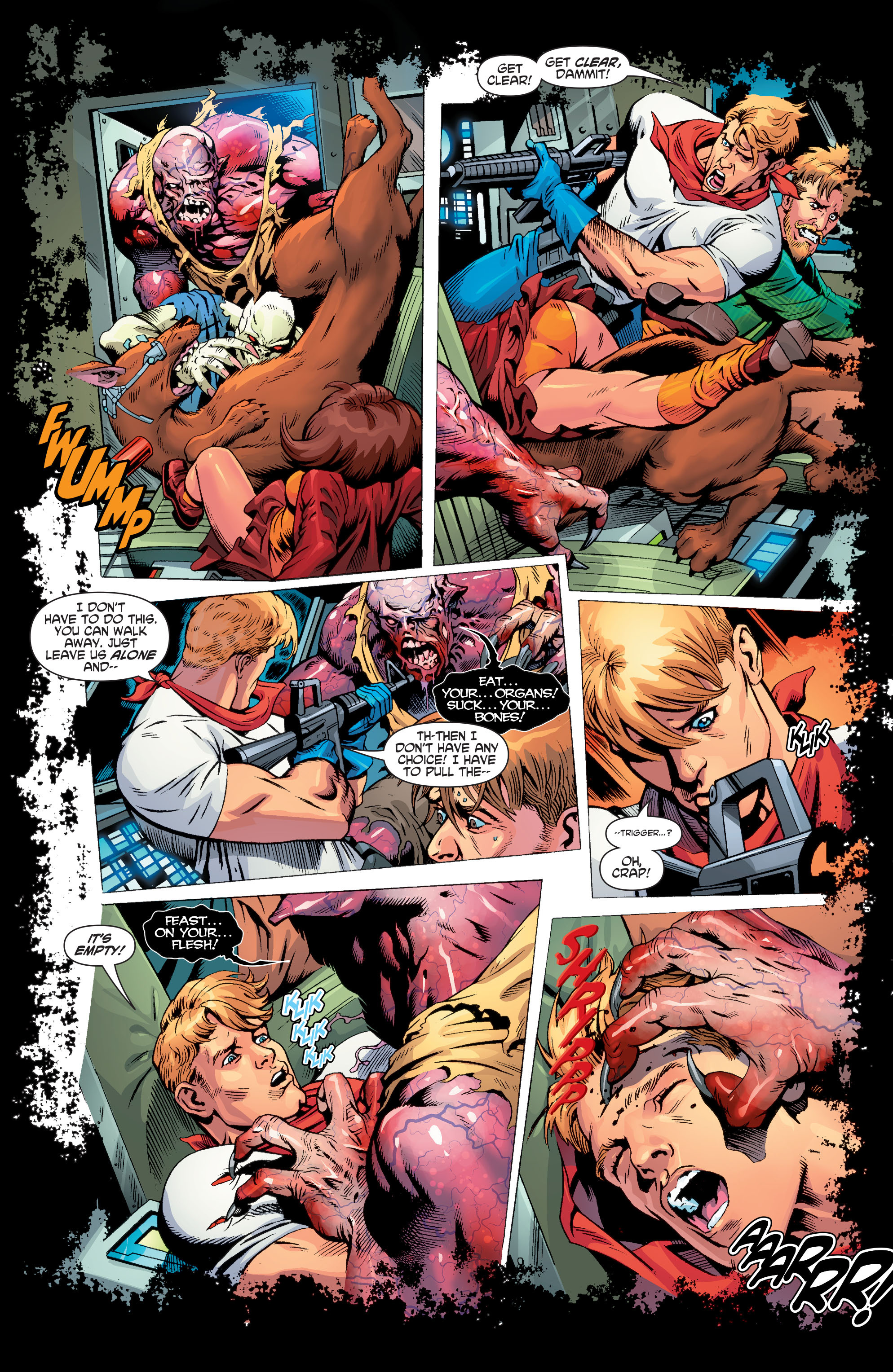 Read online Scooby Apocalypse comic -  Issue #3 - 16