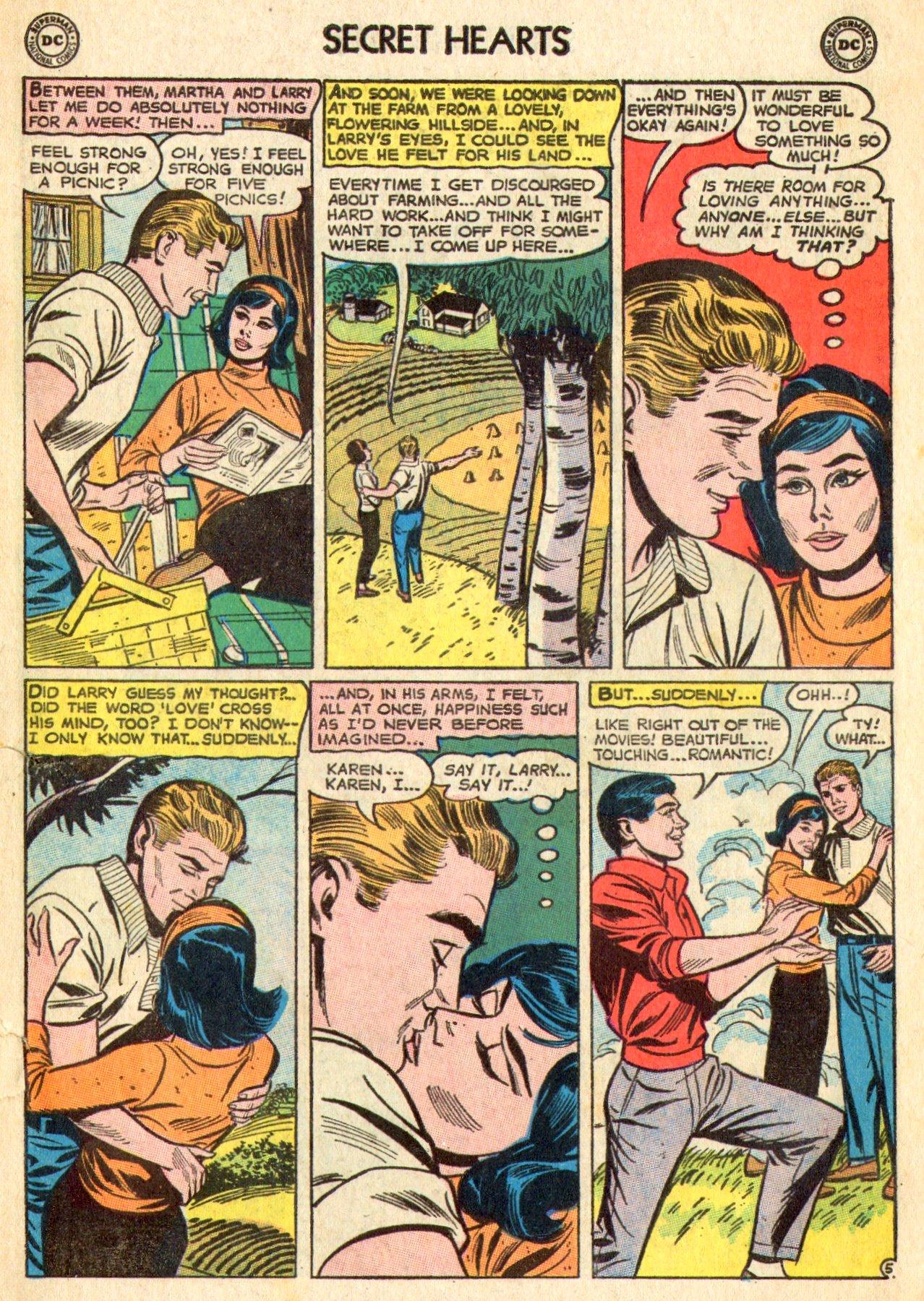 Read online Secret Hearts comic -  Issue #101 - 7