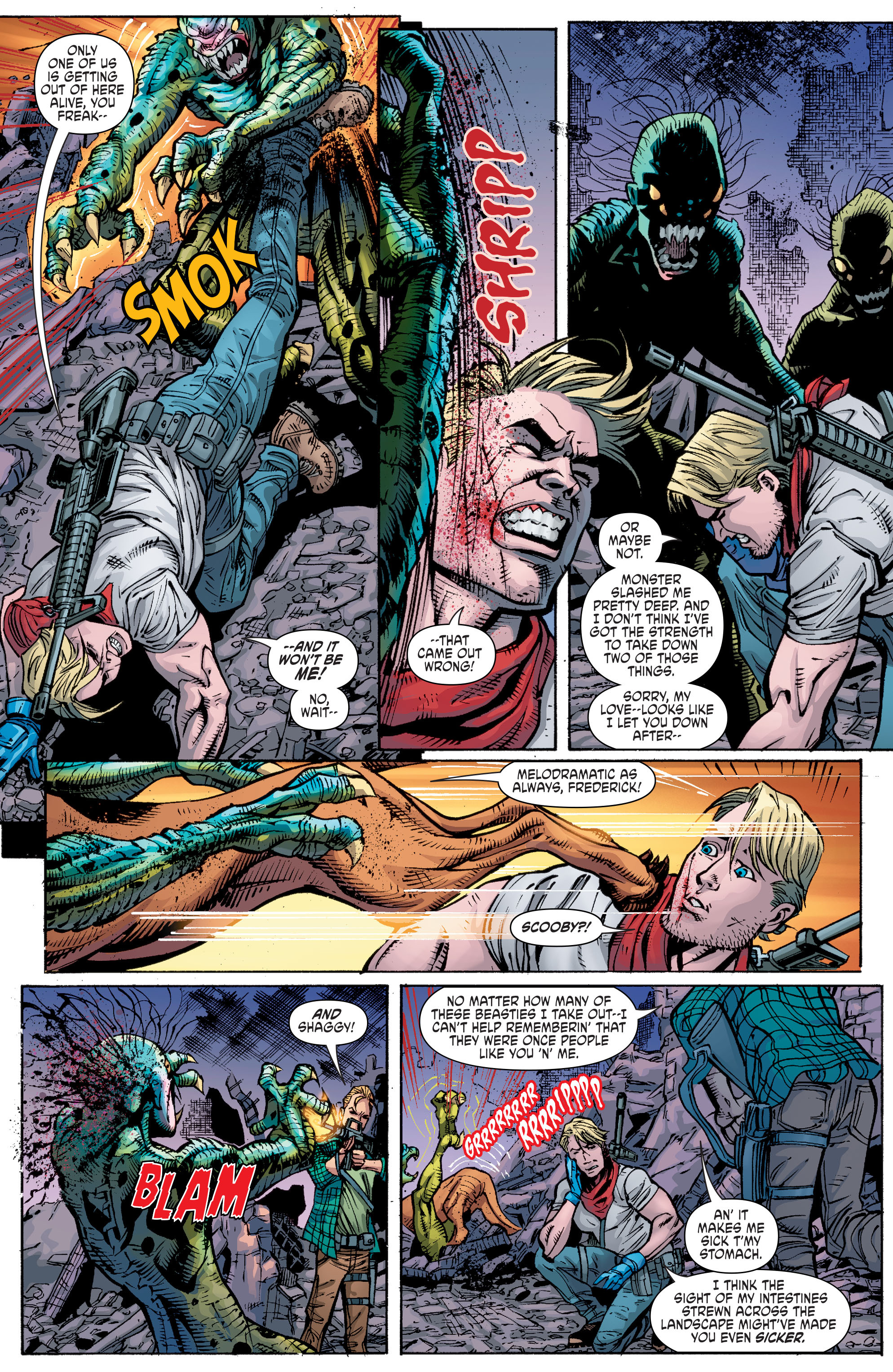 Read online Scooby Apocalypse comic -  Issue #10 - 14