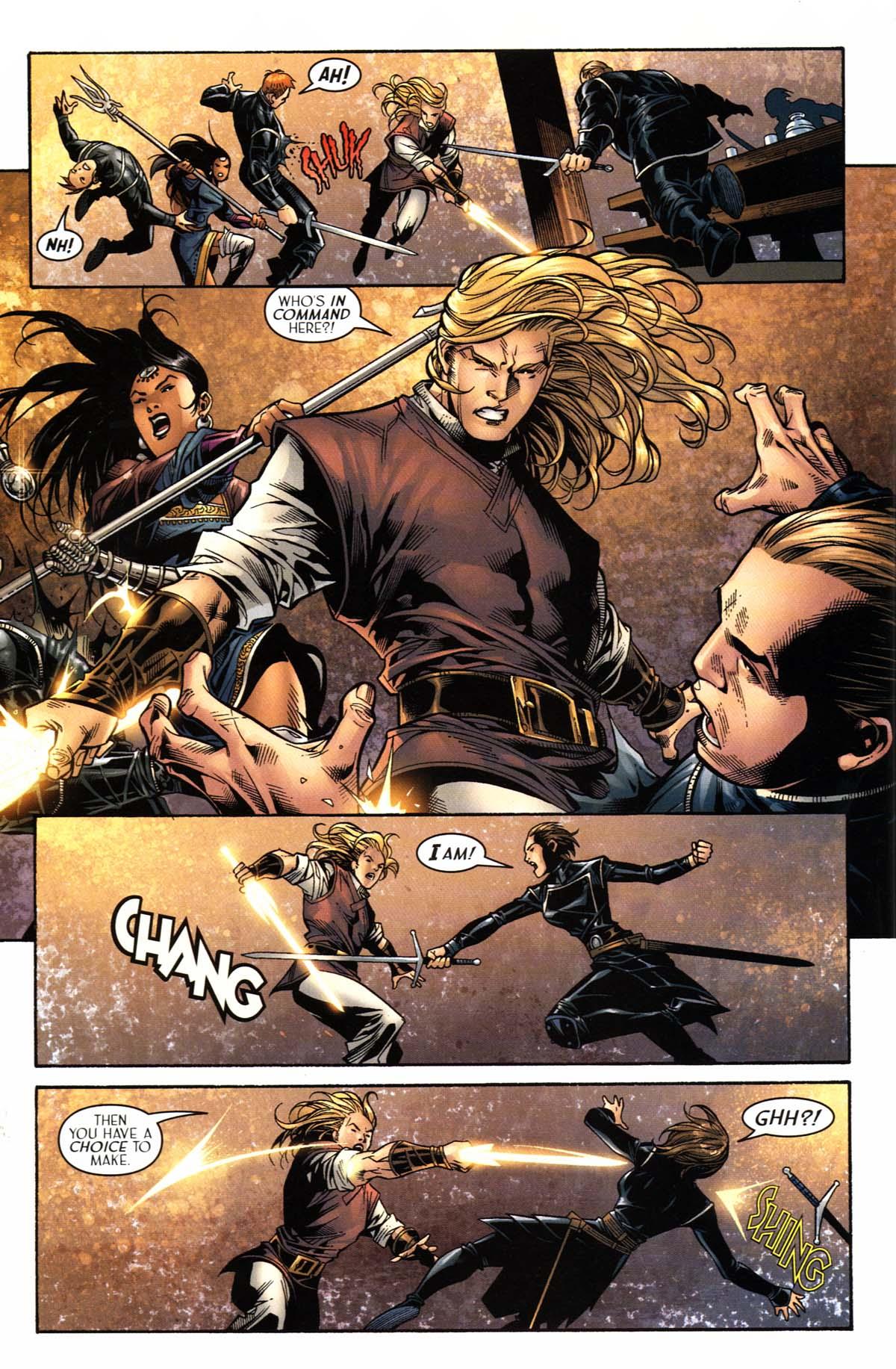 Read online Scion comic -  Issue #23 - 12