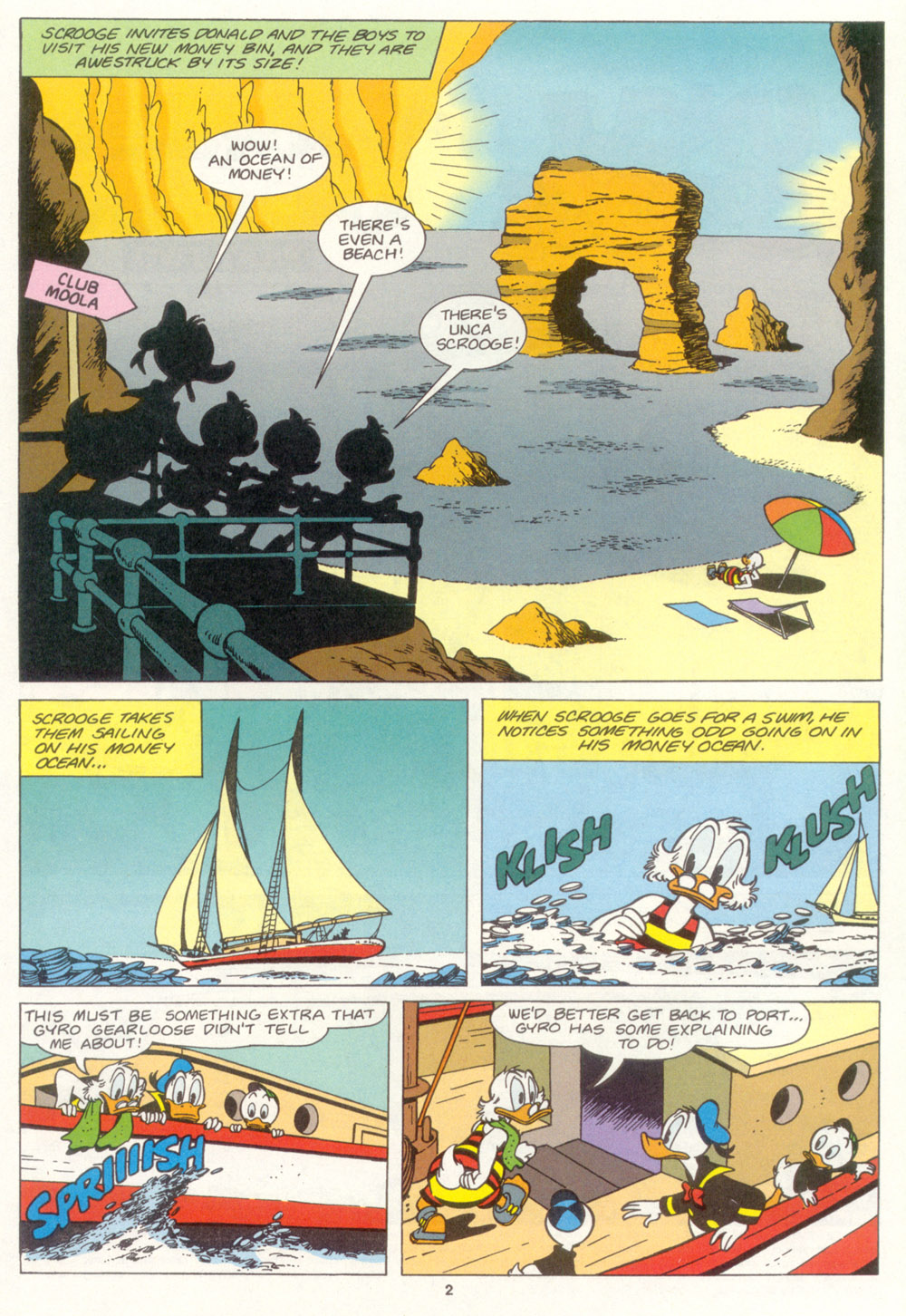 Uncle Scrooge (1953) Issue #267 #267 - English 3