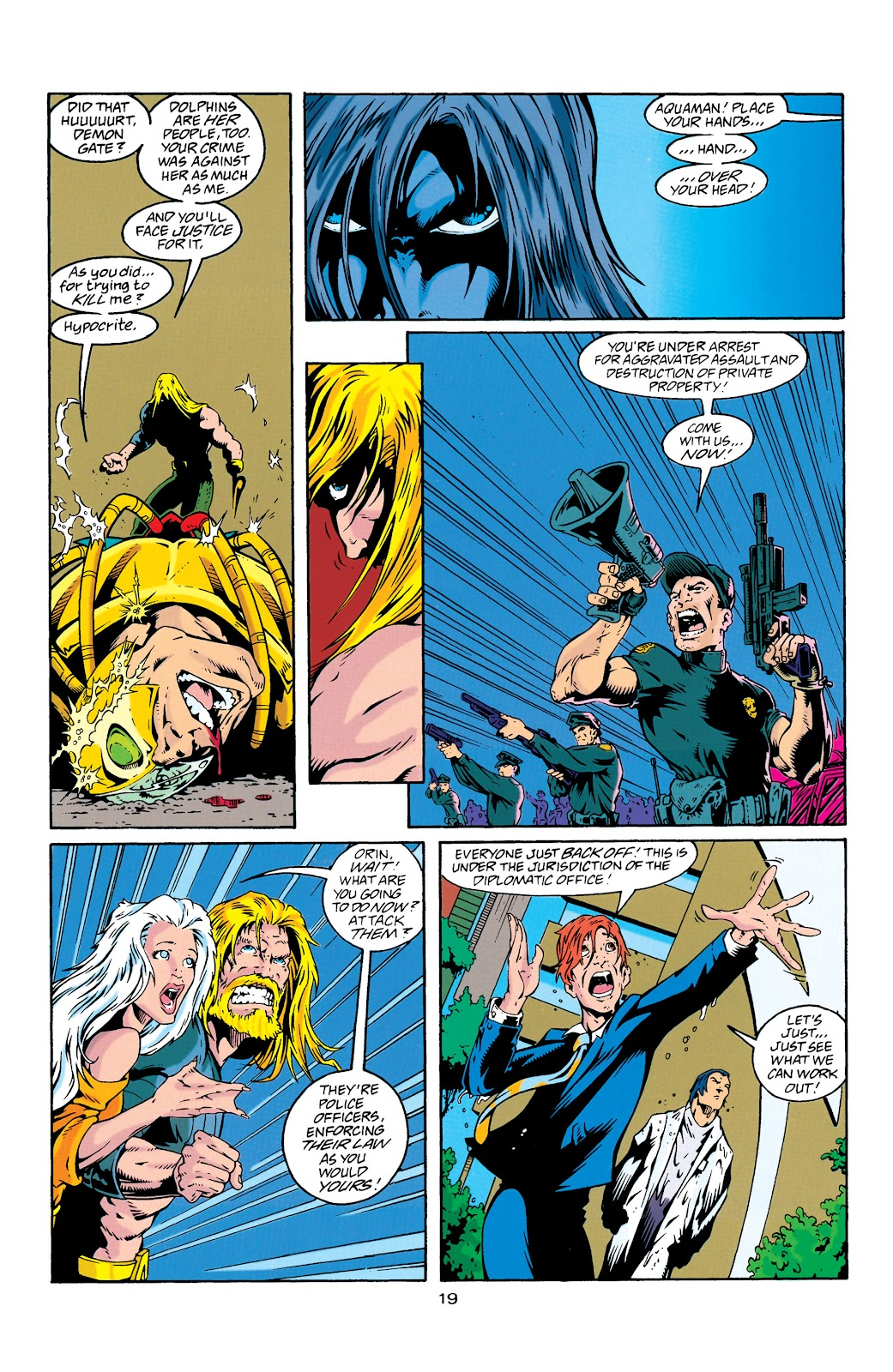 Aquaman (1994) Issue #27 #33 - English 20