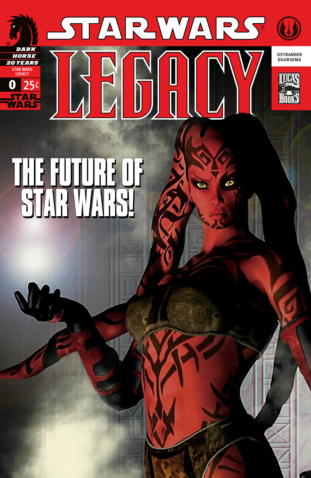 Star Wars: Legacy (2006) issue 00-1 - Page 1