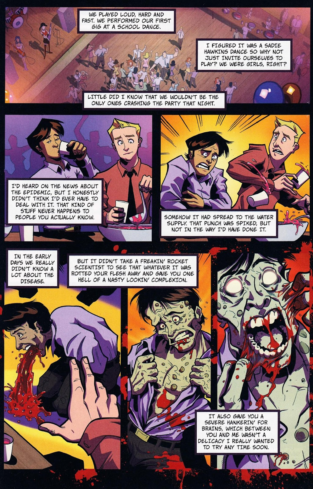 Zombies vs Cheerleaders Issue #1 Page 16