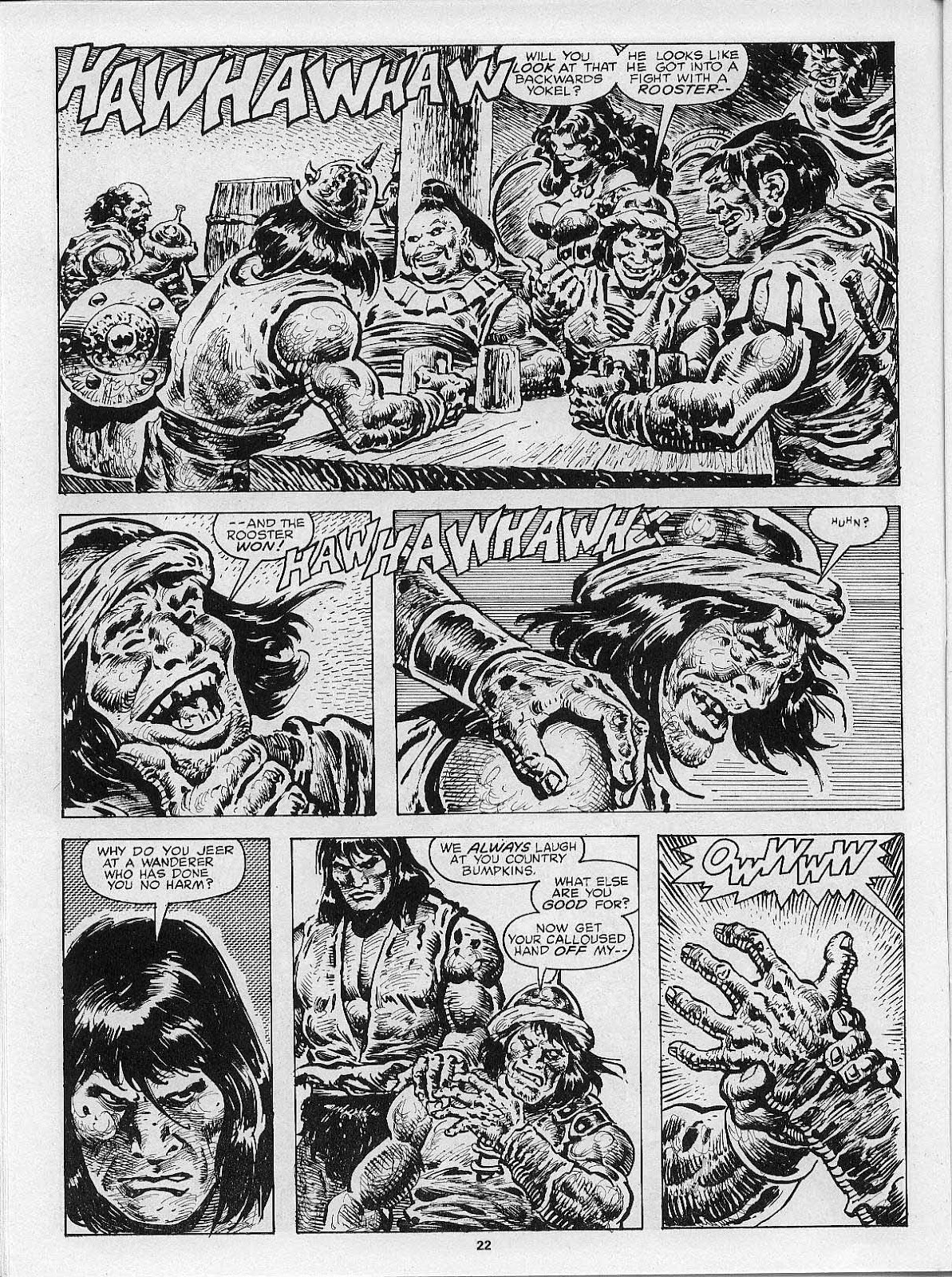 The Savage Sword Of Conan Issue #200 #201 - English 24