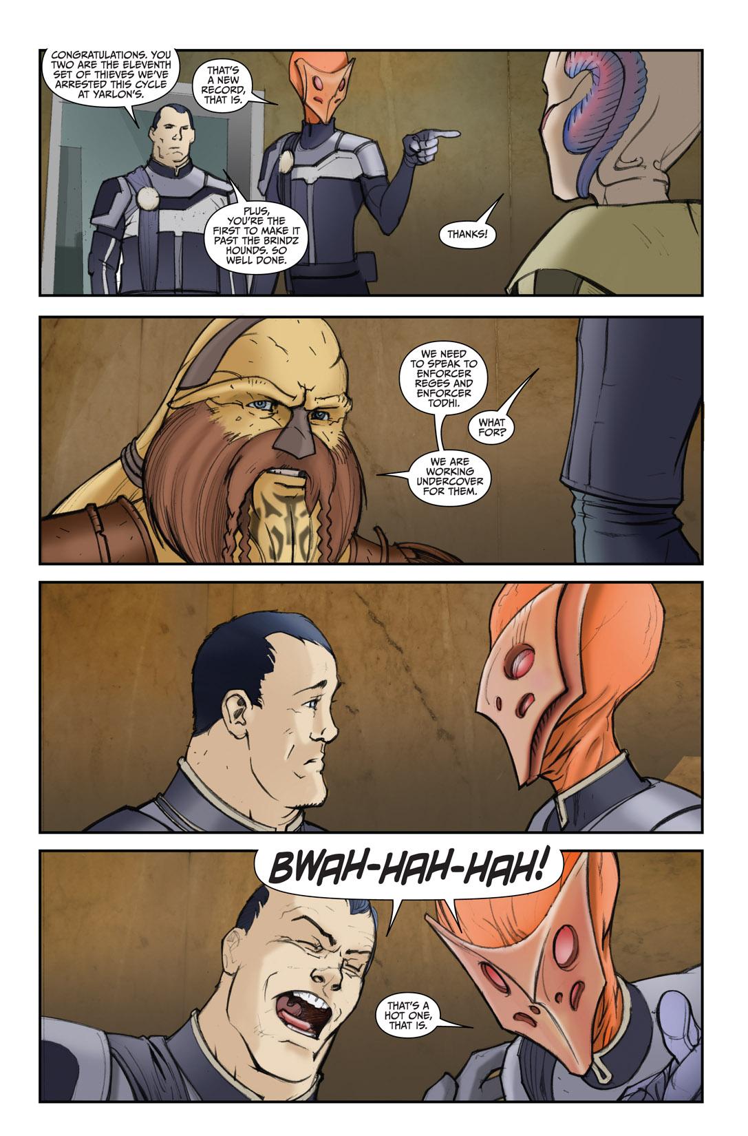 Read online Farscape: D'Argo's Quest comic -  Issue #4 - 5