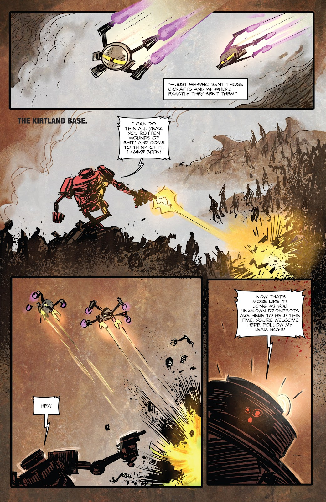 Zombies vs Robots (2015) Issue #2 Page 10