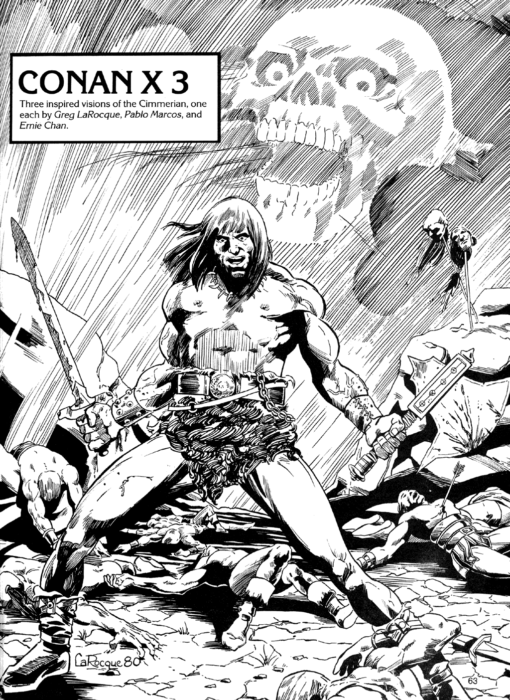 The Savage Sword Of Conan Issue #72 #73 - English 62