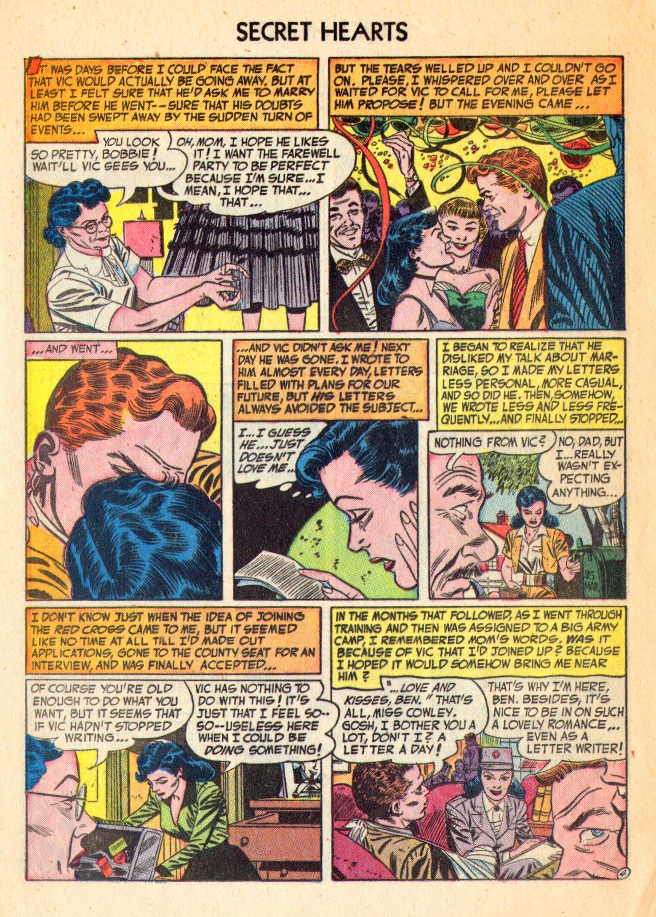 Read online Secret Hearts comic -  Issue #18 - 20