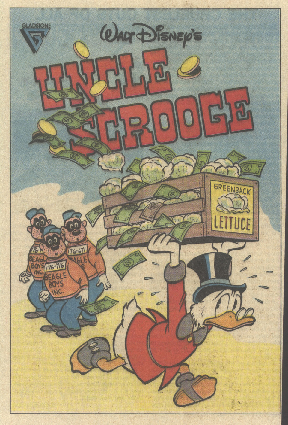 Uncle Scrooge (1953) Issue #241 #241 - English 45