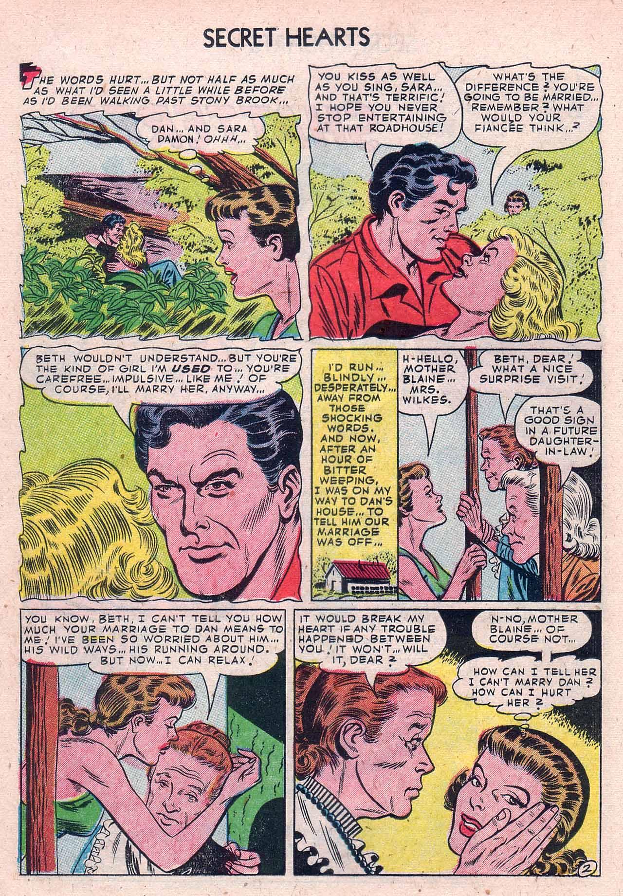 Read online Secret Hearts comic -  Issue #12 - 12
