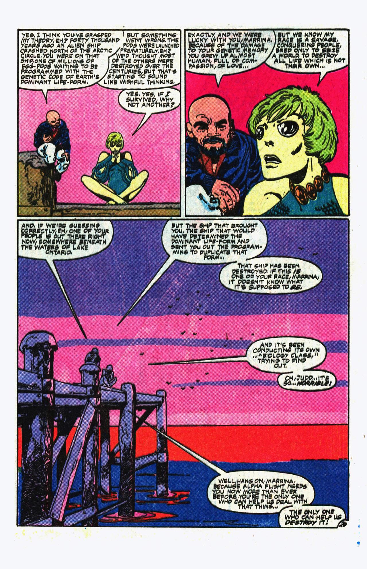 Alpha Flight (1983) 14 Page 20