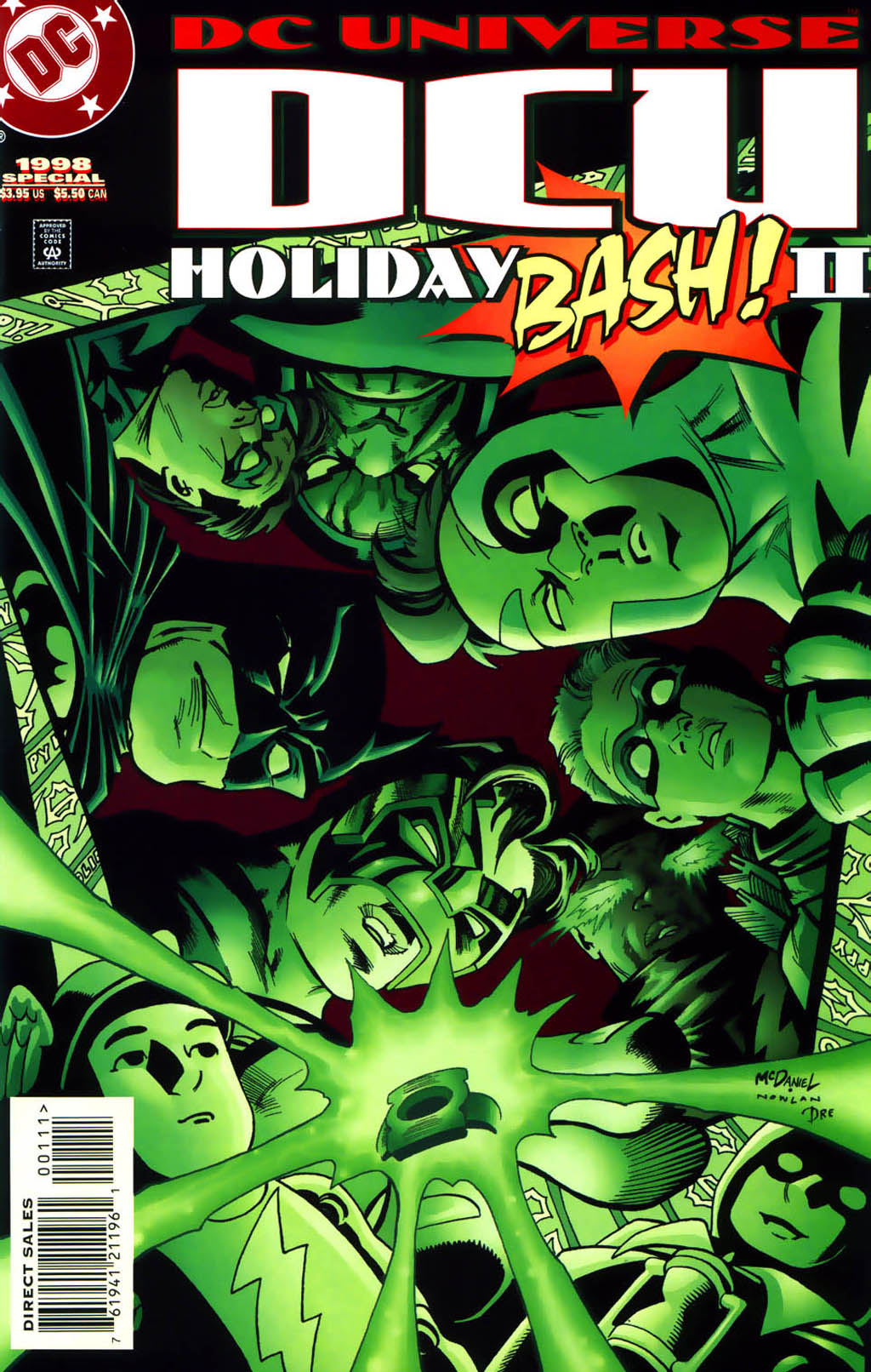 DC Universe Holiday Bash 2 Page 1