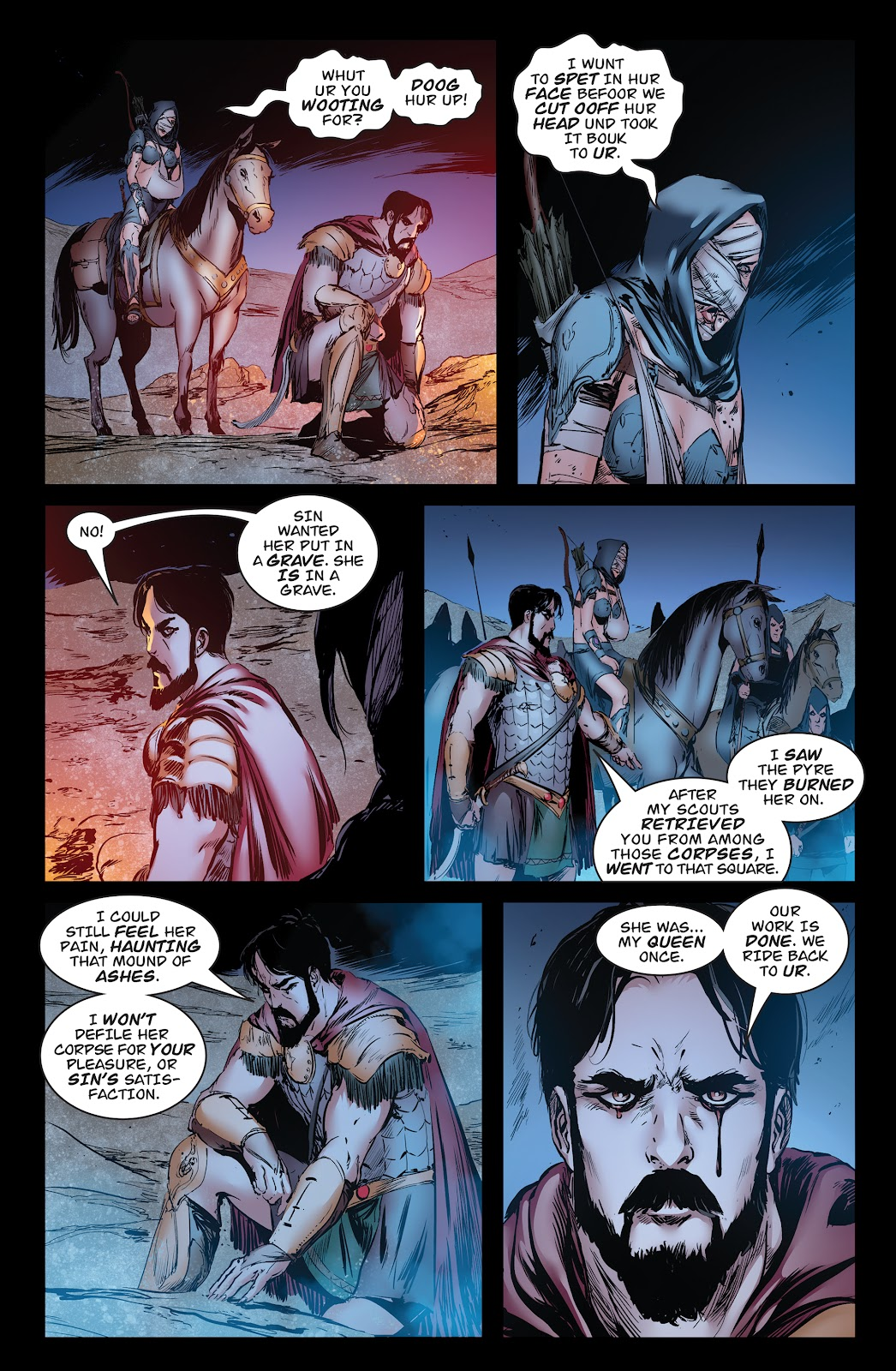 Queen of Vampires Issue #7 #7 - English 38