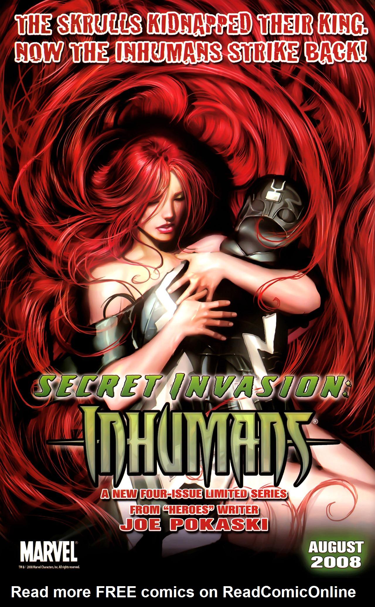 Read online Skrulls! comic -  Issue # Full - 61