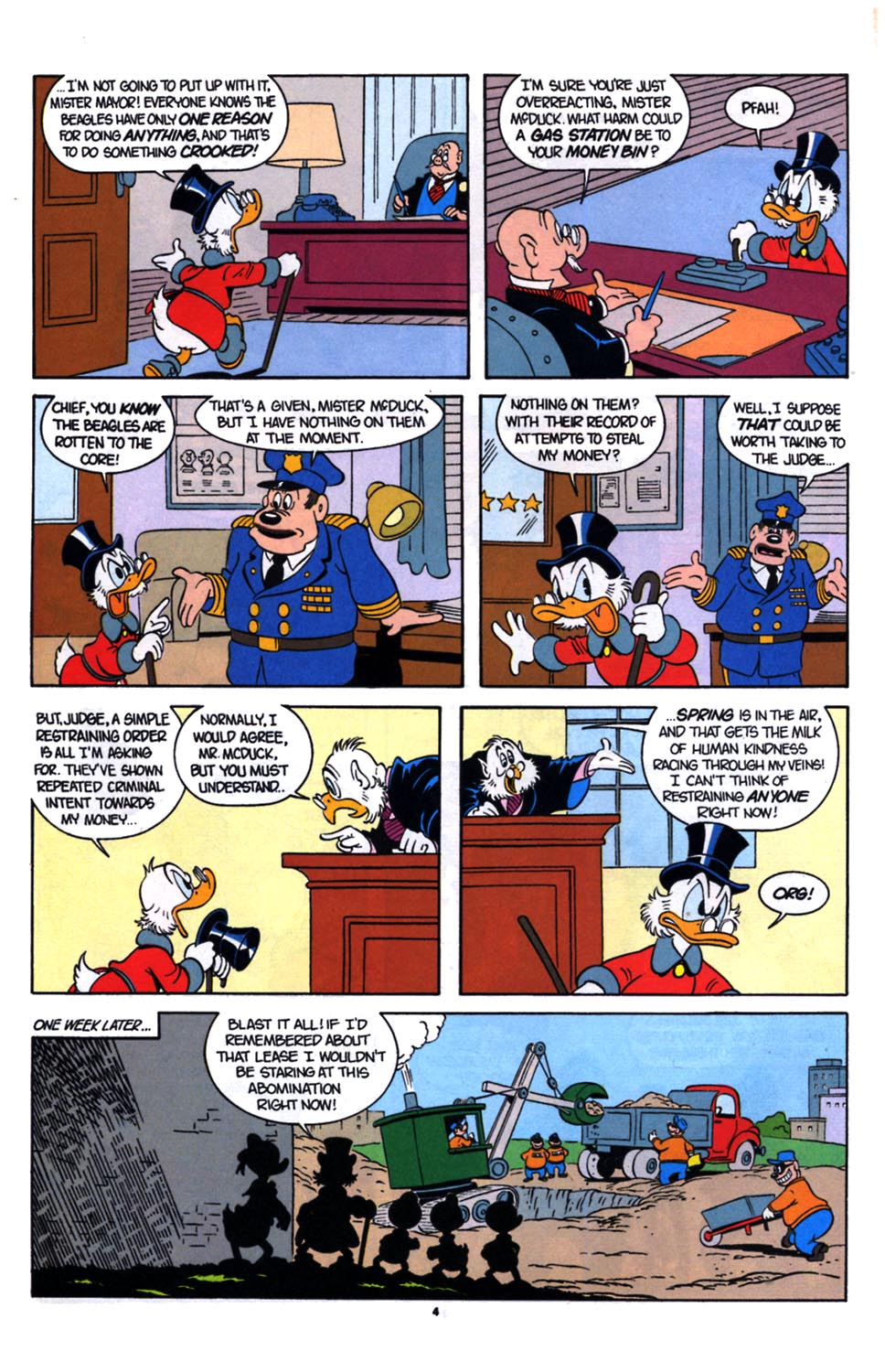 Uncle Scrooge (1953) Issue #254 #254 - English 5