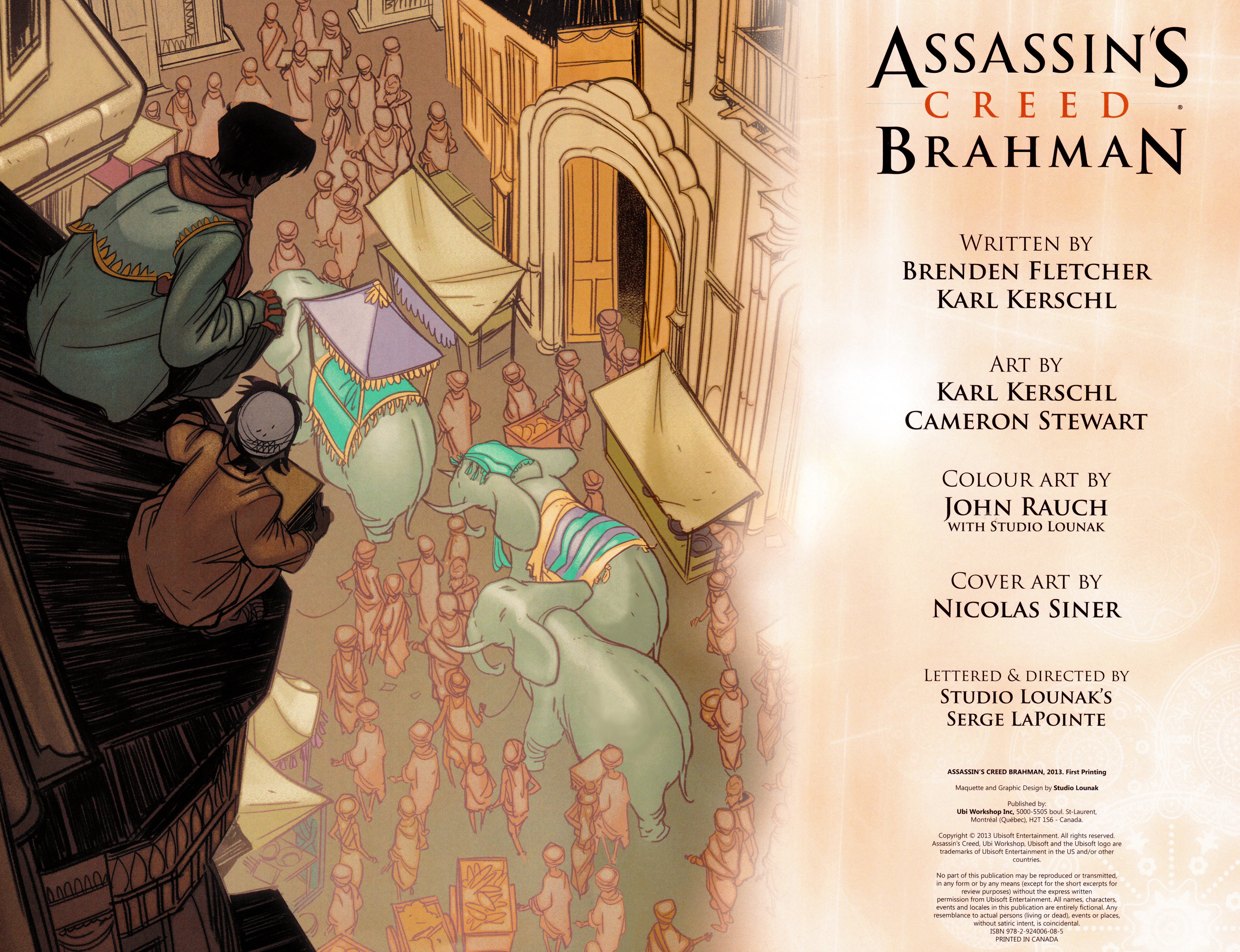 Read online Assassin's Creed Brahman comic -  Issue #Assassin's Creed Brahman Full - 3