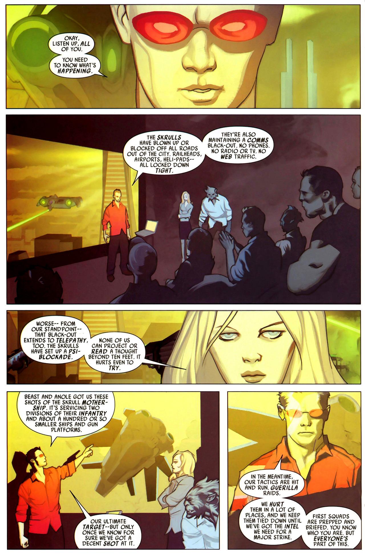 Read online Secret Invasion: X-Men comic -  Issue #2 - 7