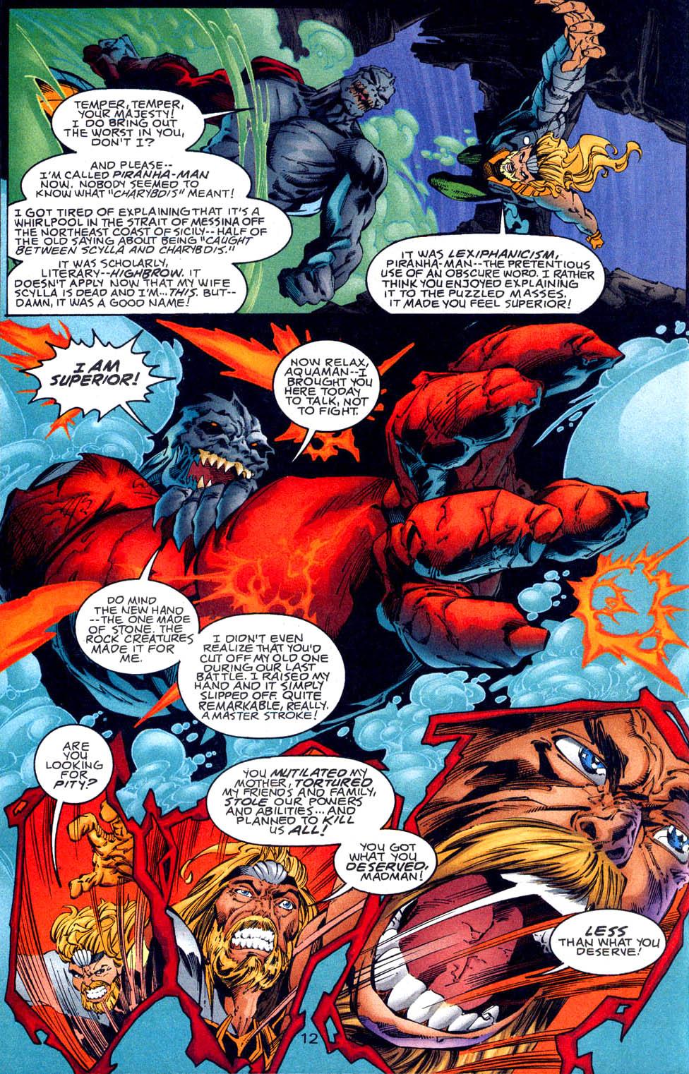 Aquaman (1994) Issue #62 #68 - English 13