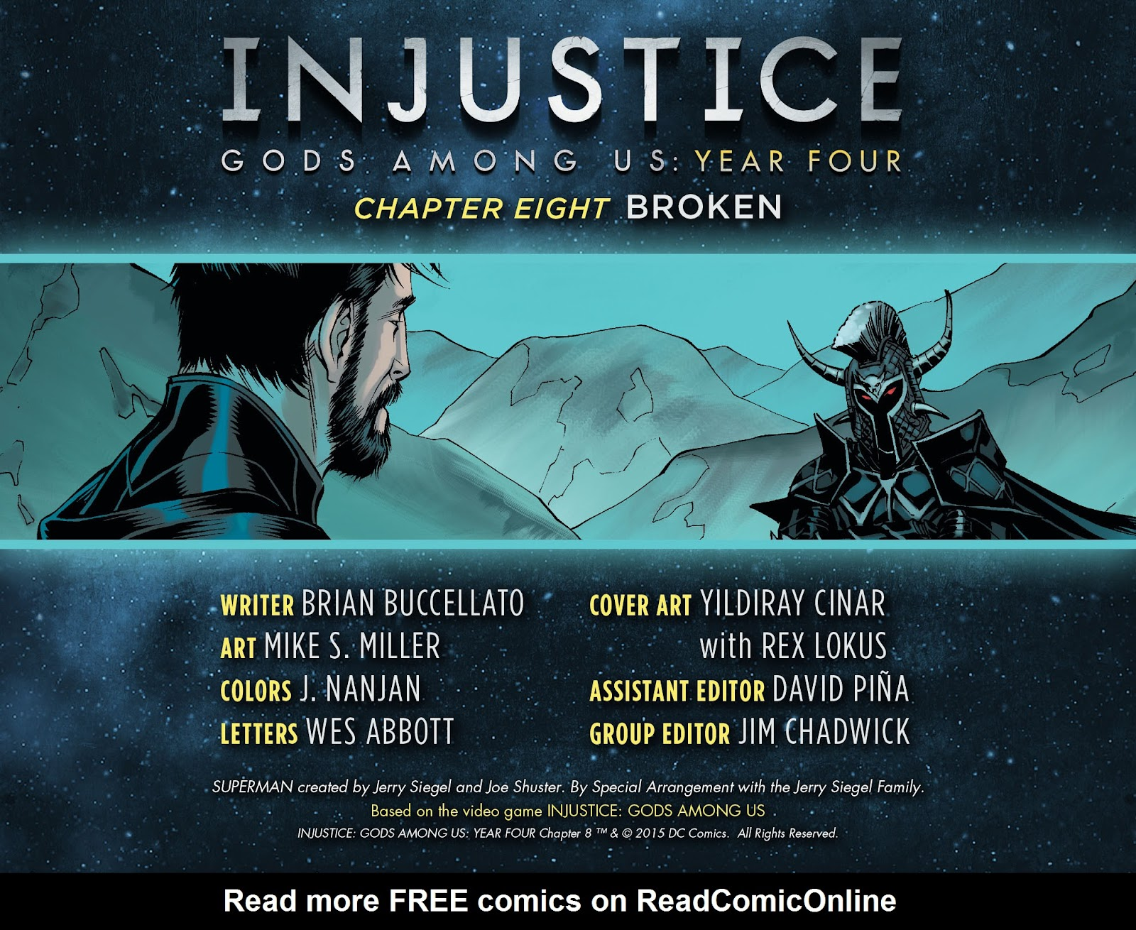 Injustice: Gods Among Us Year Four Issue #8 #9 - English 2