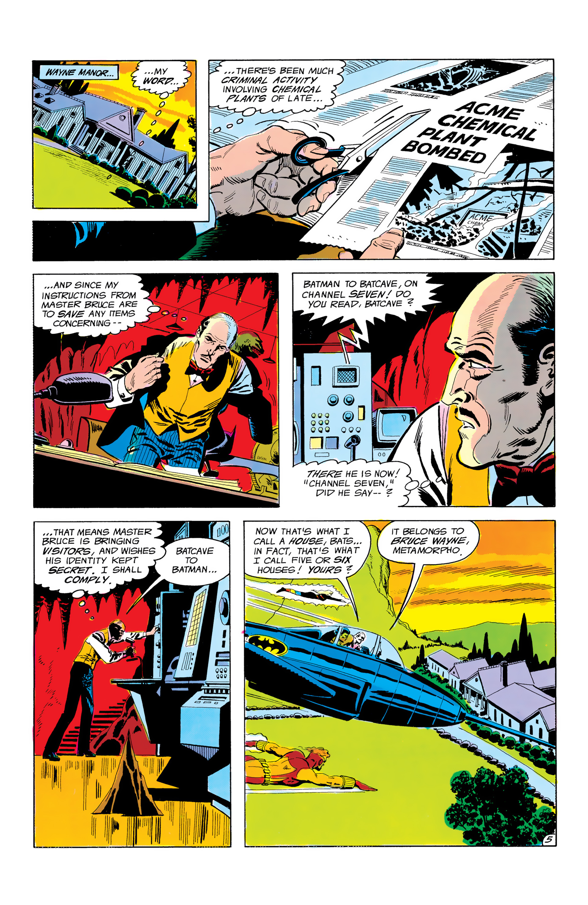 Batman and the Outsiders (1983) 3 Page 5