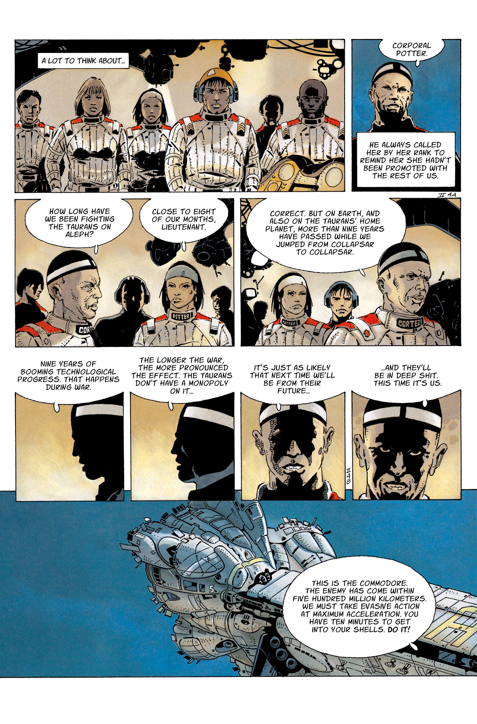 The Forever War (2017) #3 #4 - English 8