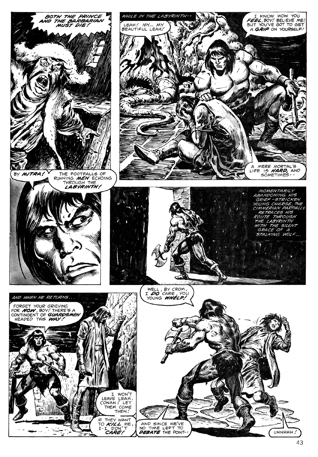 The Savage Sword Of Conan Issue #71 #72 - English 43