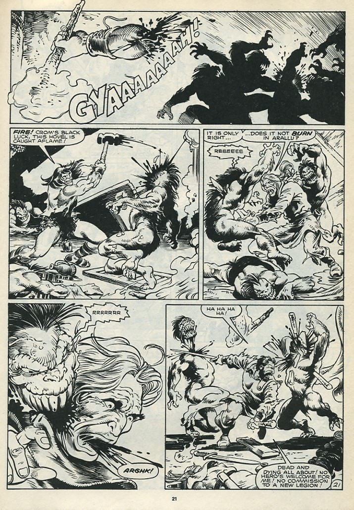 The Savage Sword Of Conan Issue #172 #173 - English 23