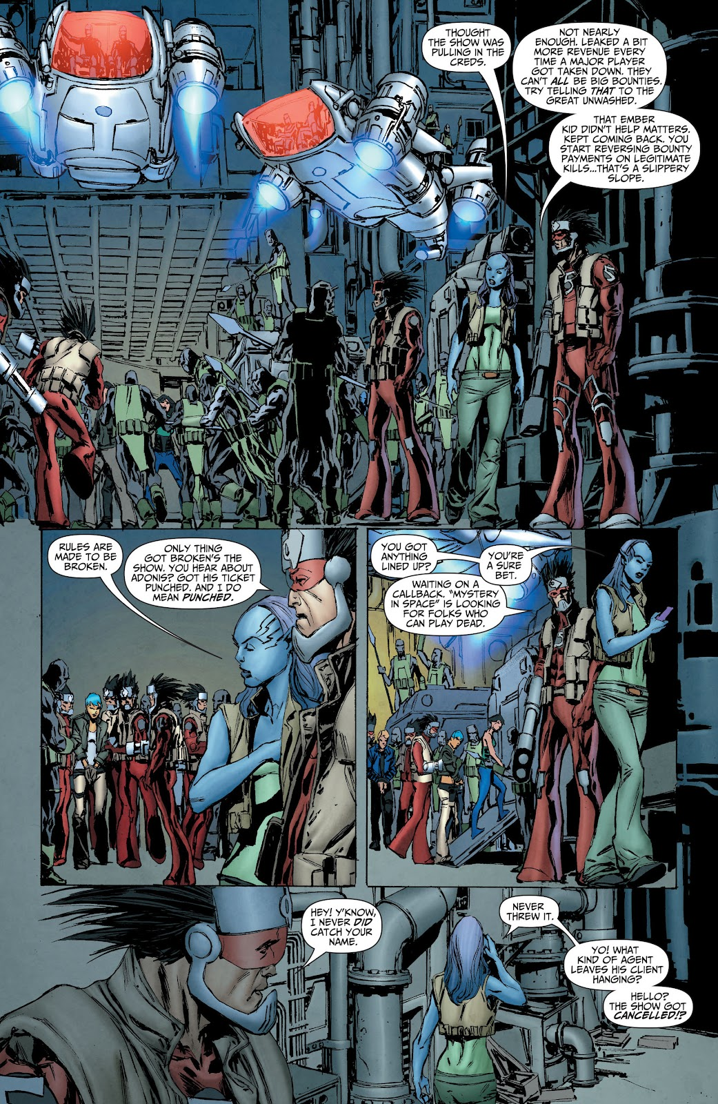 Threshold (2013) Issue #8 #8 - English 7