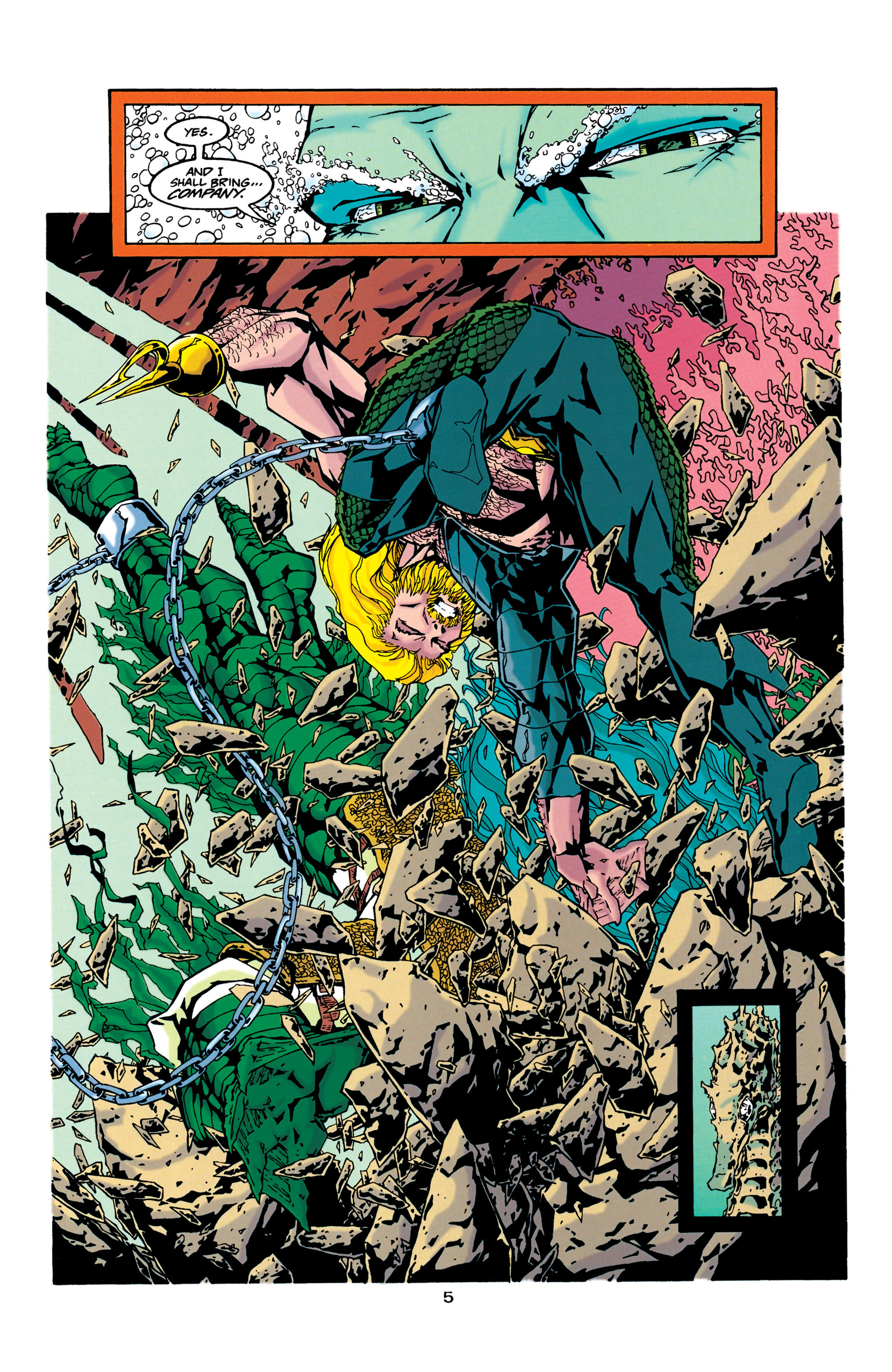 Read online Aquaman (1994) comic -  Issue #34 - 5