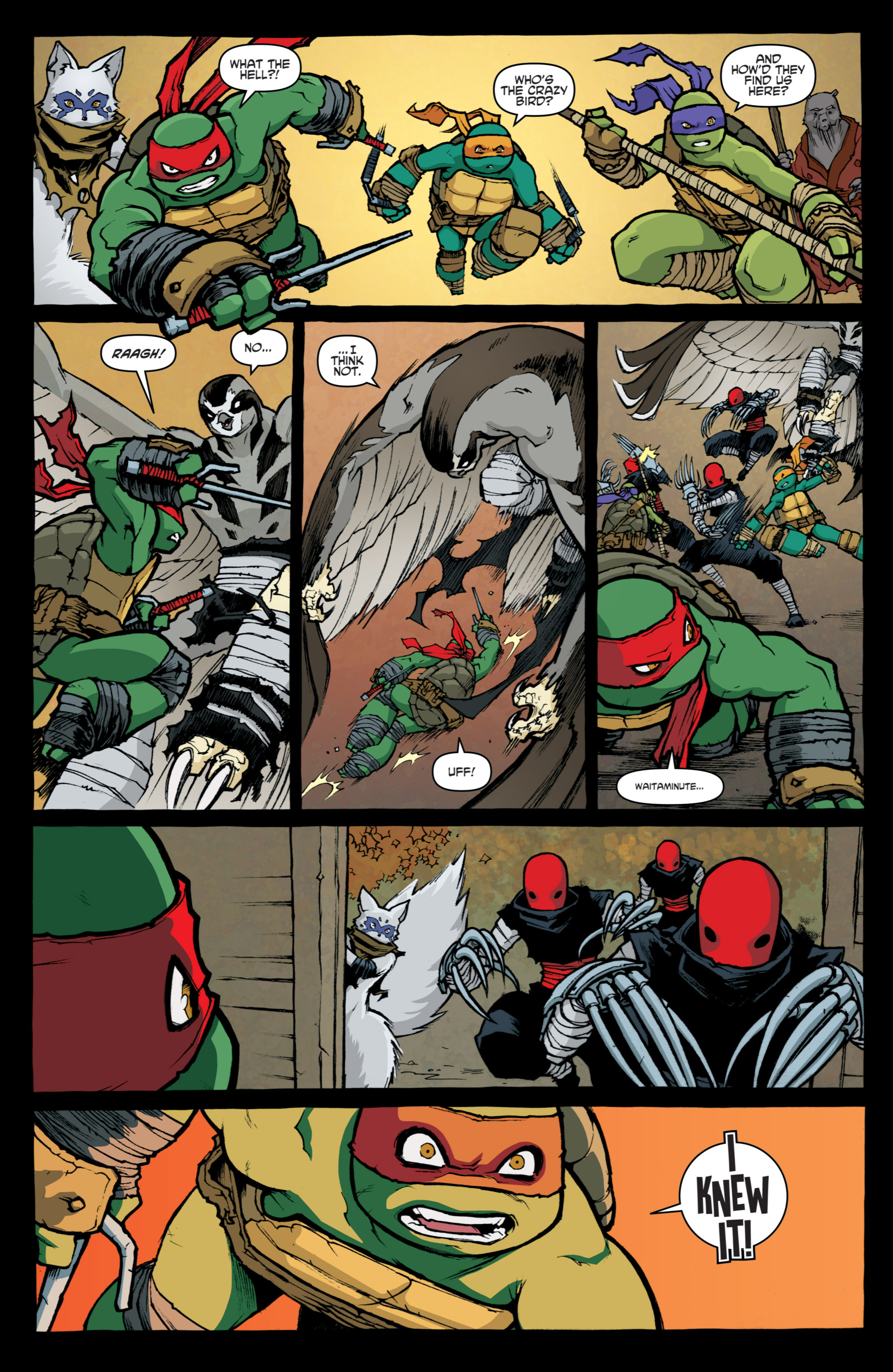 Read online Teenage Mutant Ninja Turtles (2011) comic -  Issue #31 - 21