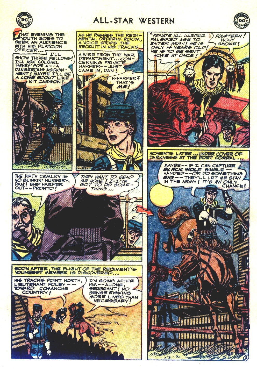 Read online All-Star Western (1951) comic -  Issue #66 - 13