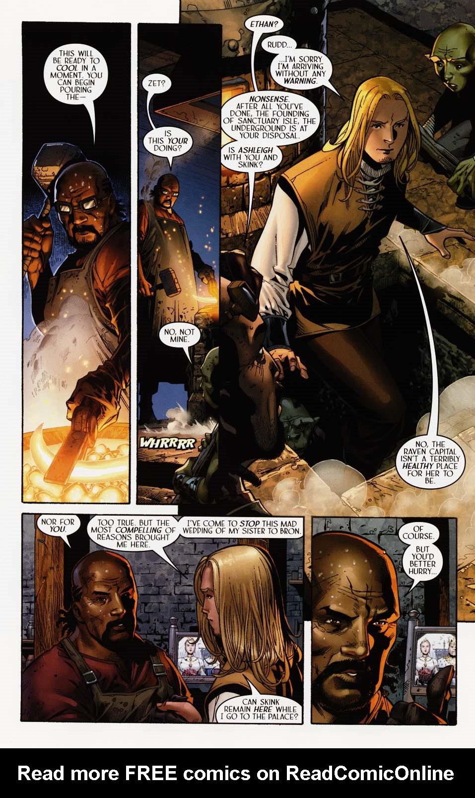 Read online Scion comic -  Issue #35 - 11