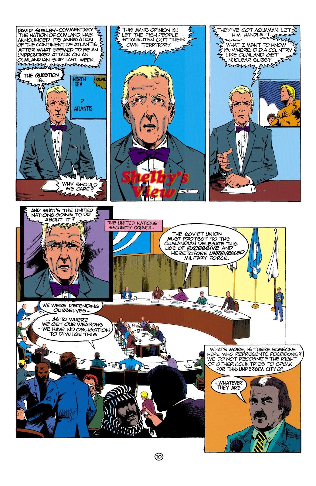 Aquaman (1991) Issue #1 #1 - English 10