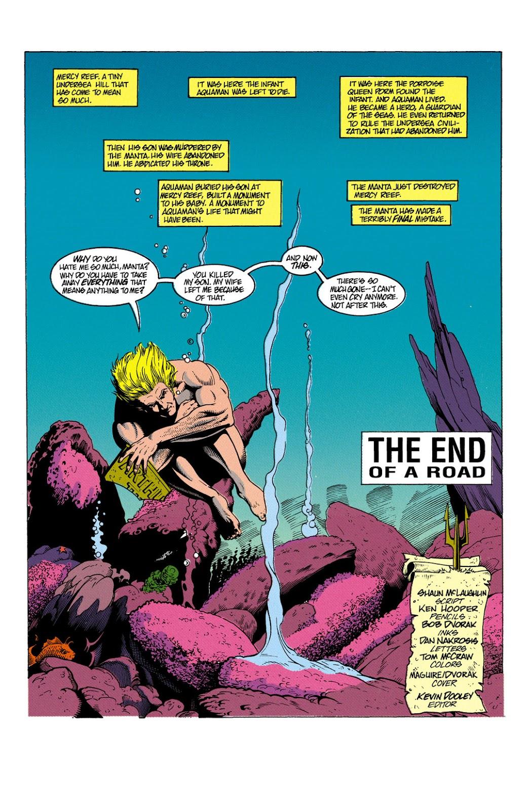 Aquaman (1991) Issue #6 #6 - English 2