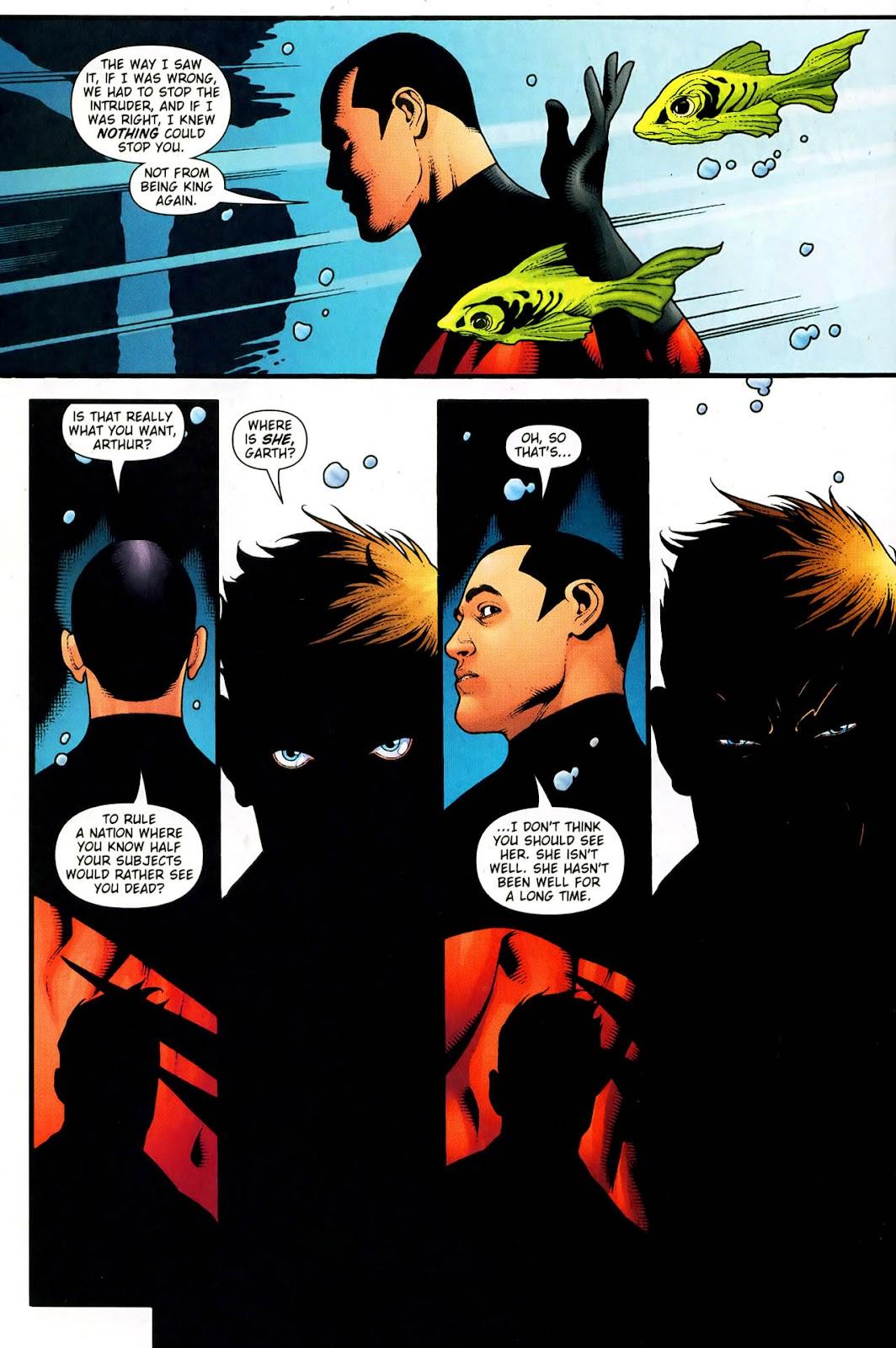 Aquaman (2003) Issue #33 #33 - English 20