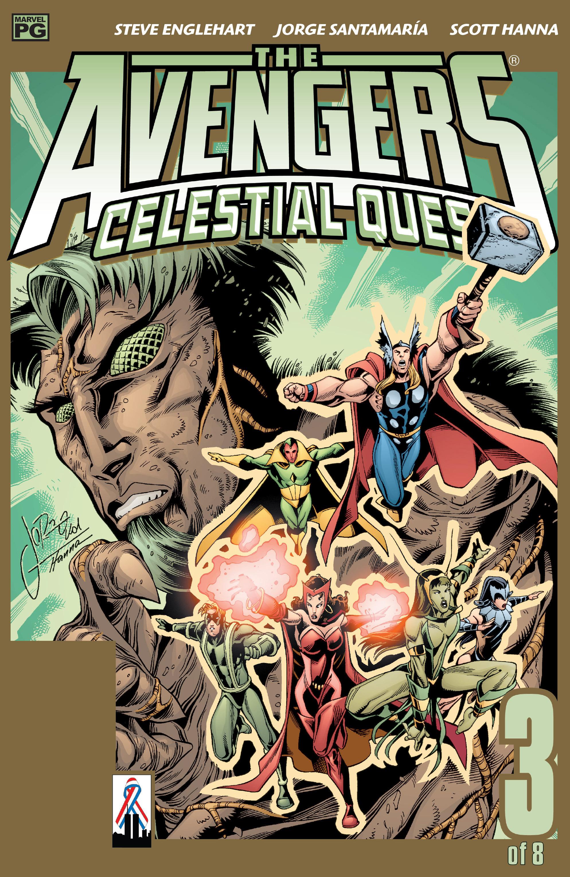 Avengers: Celestial Quest 3 Page 1