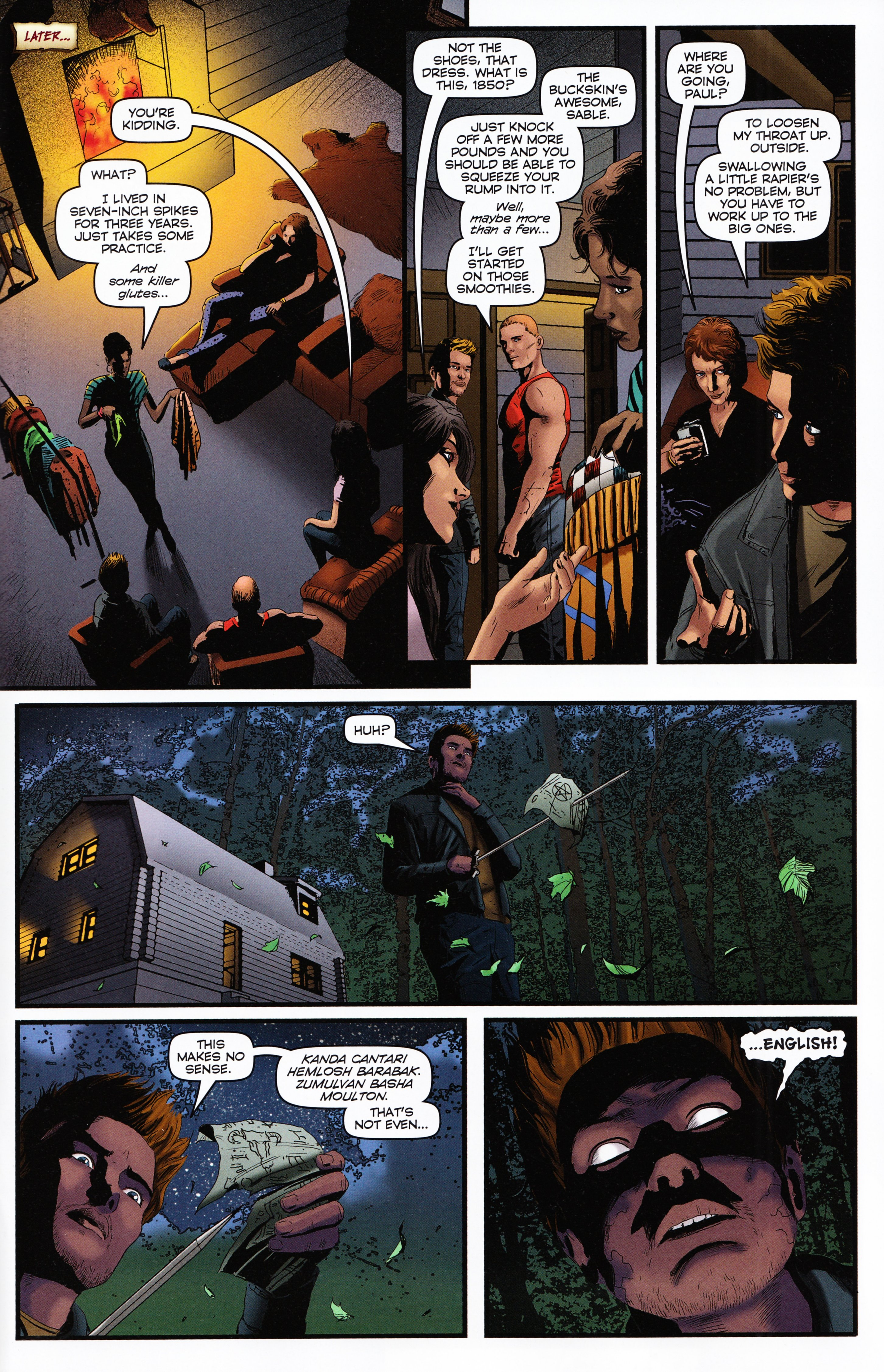 Read online Evil Dead 2: Tales of the Ex-Mortis comic -  Issue #2 - 31