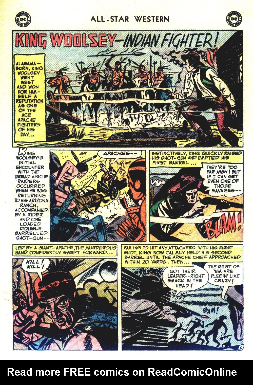 Read online All-Star Western (1951) comic -  Issue #66 - 25
