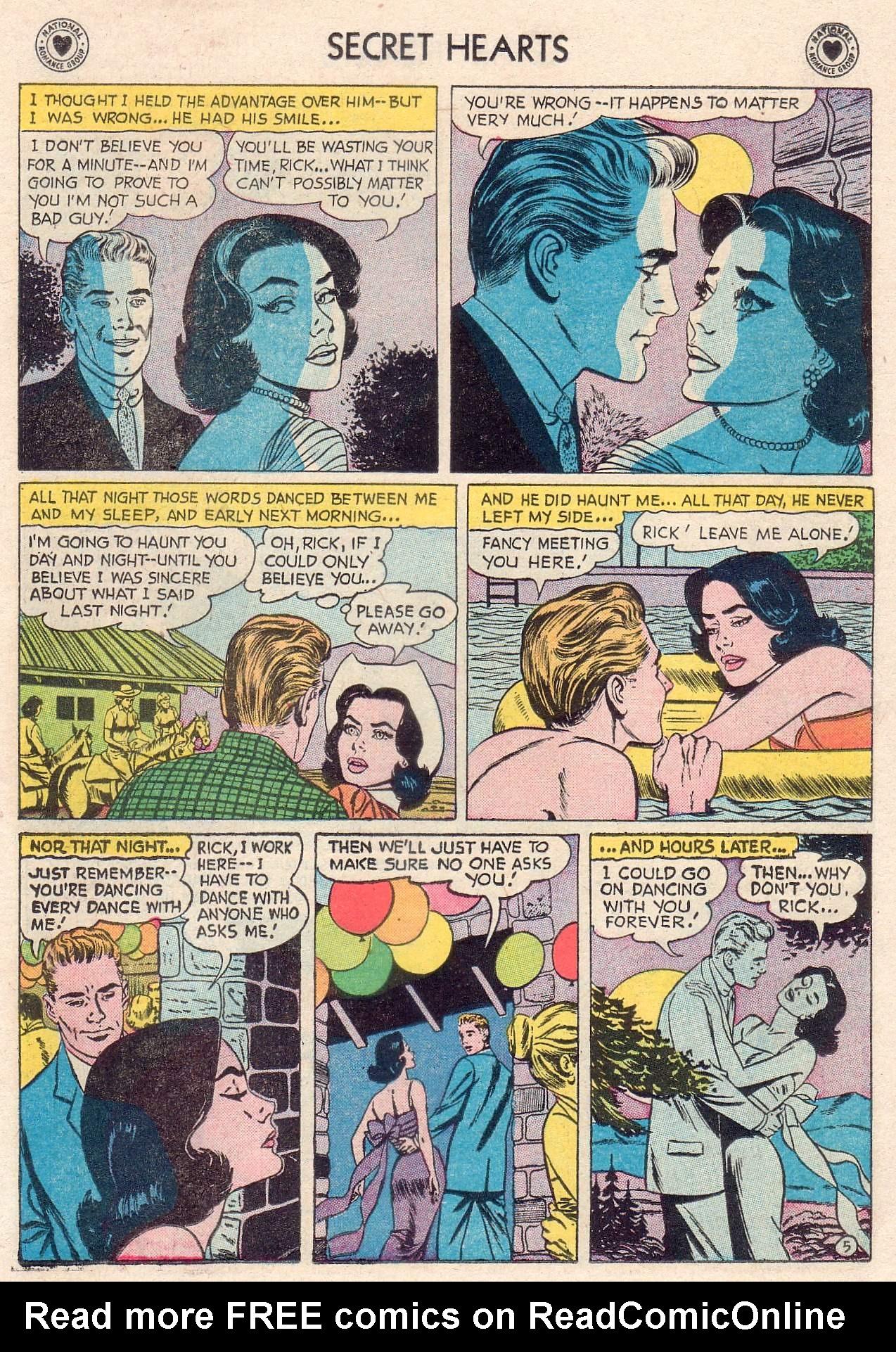 Read online Secret Hearts comic -  Issue #46 - 23