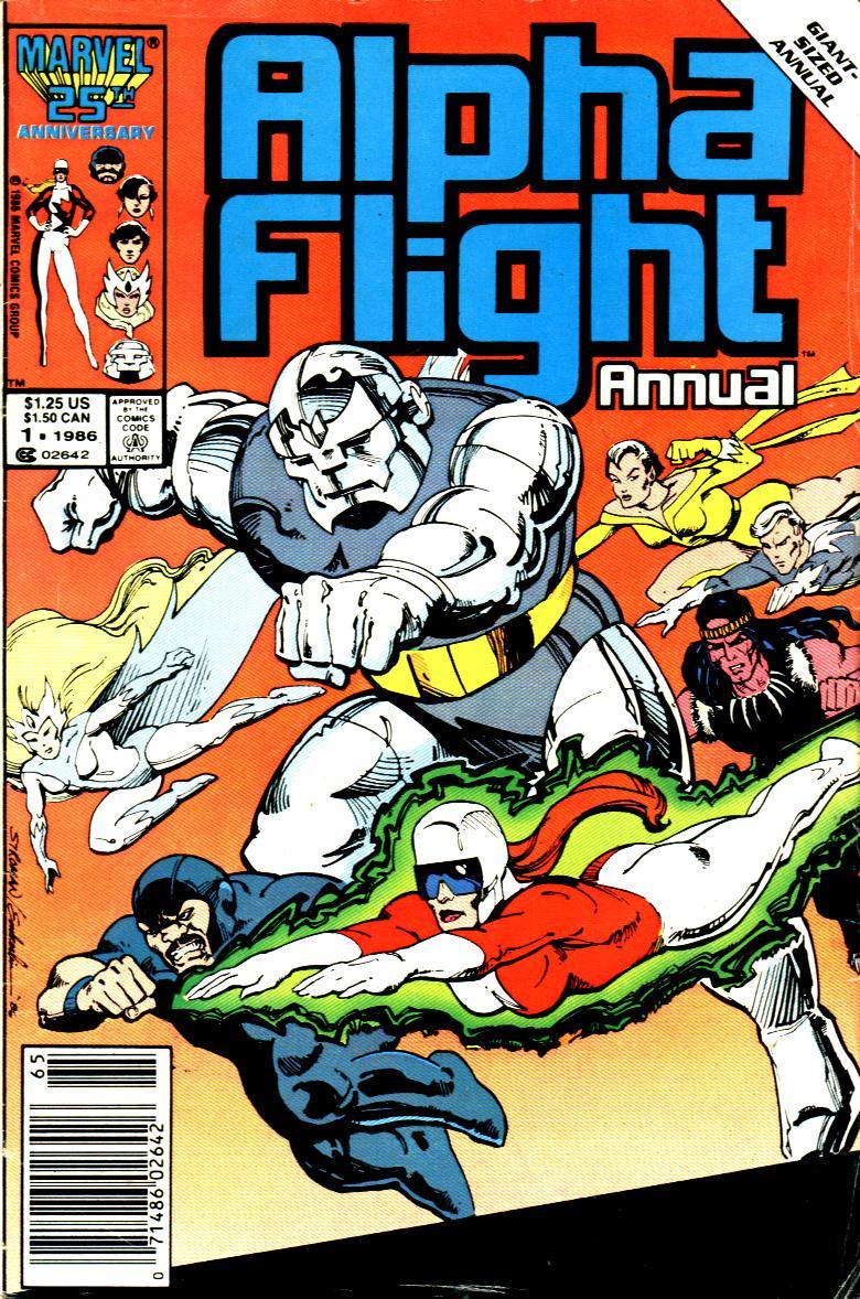 Alpha Flight (1983) _Annual_1 Page 1
