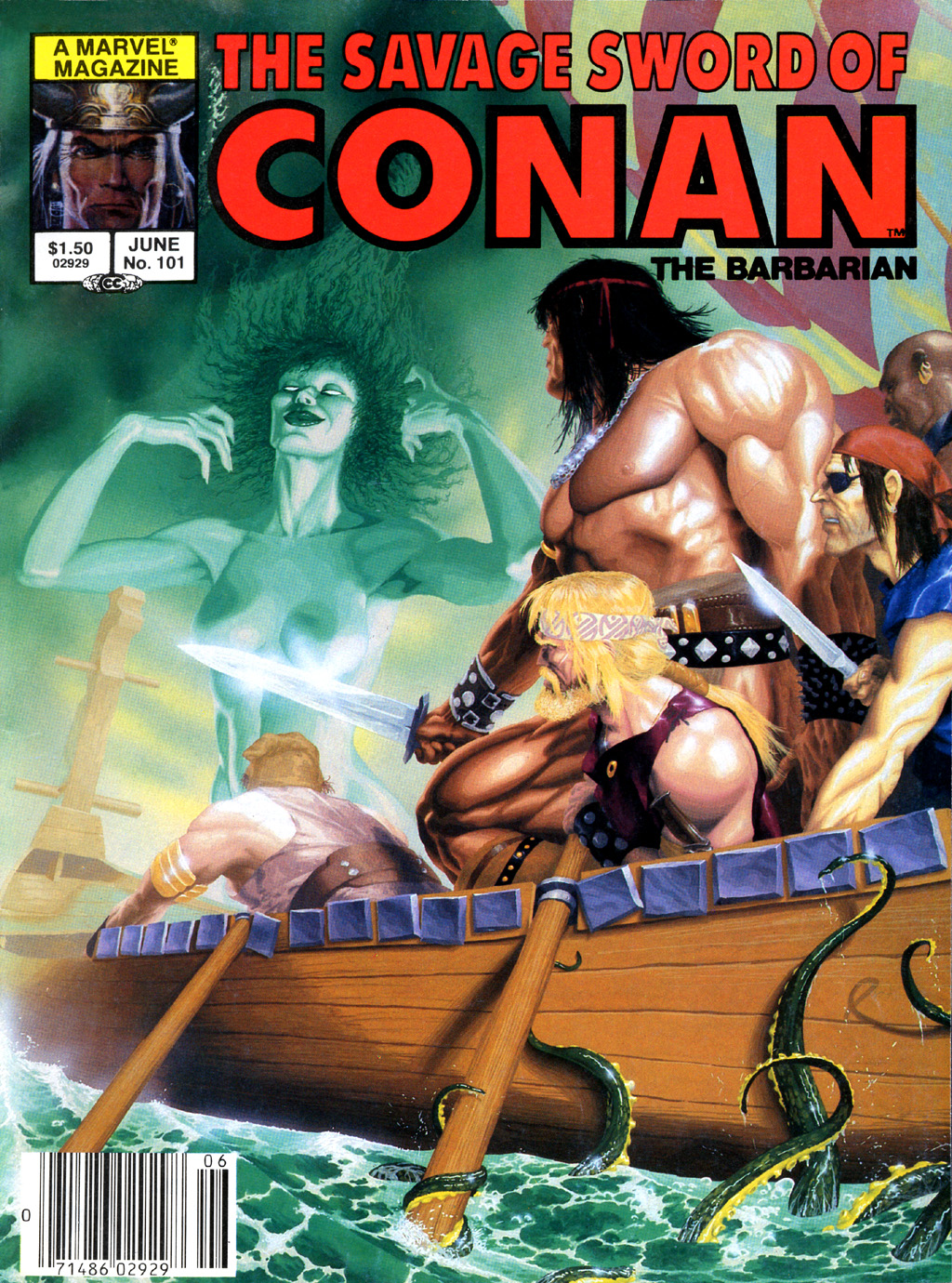 The Savage Sword Of Conan Issue #101 #102 - English 1