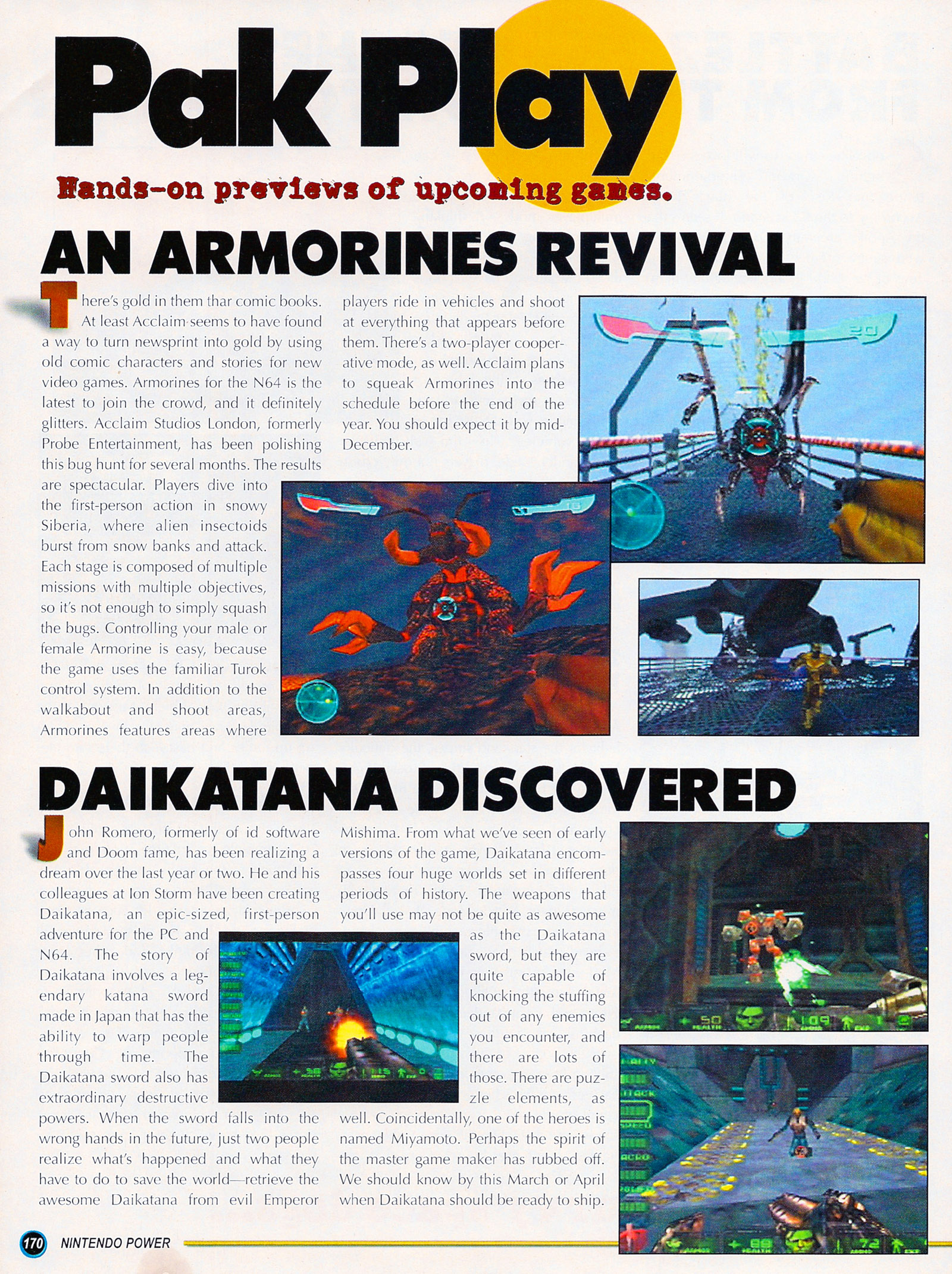 Nintendo Power #127 #127 - English 195