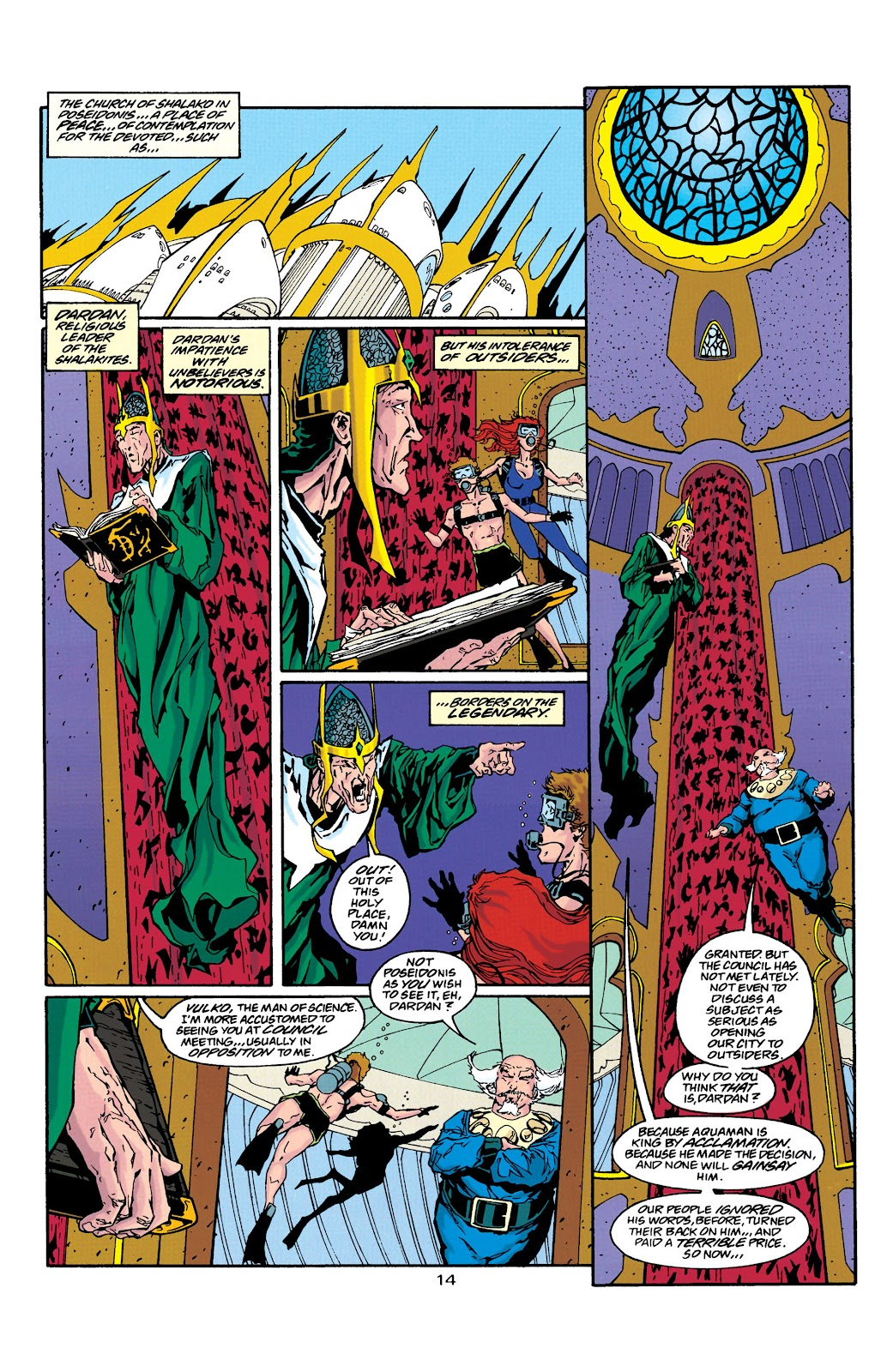 Aquaman (1994) Issue #39 #45 - English 14