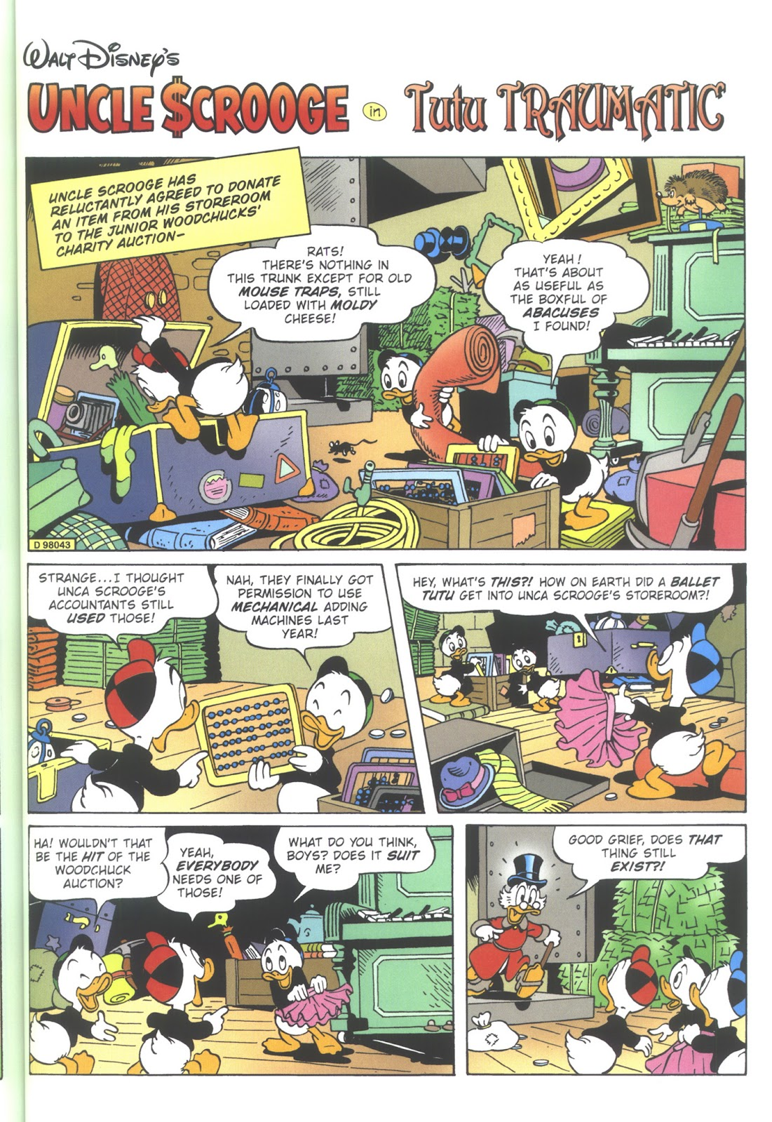 Uncle Scrooge (1953) Issue #353 #353 - English 53