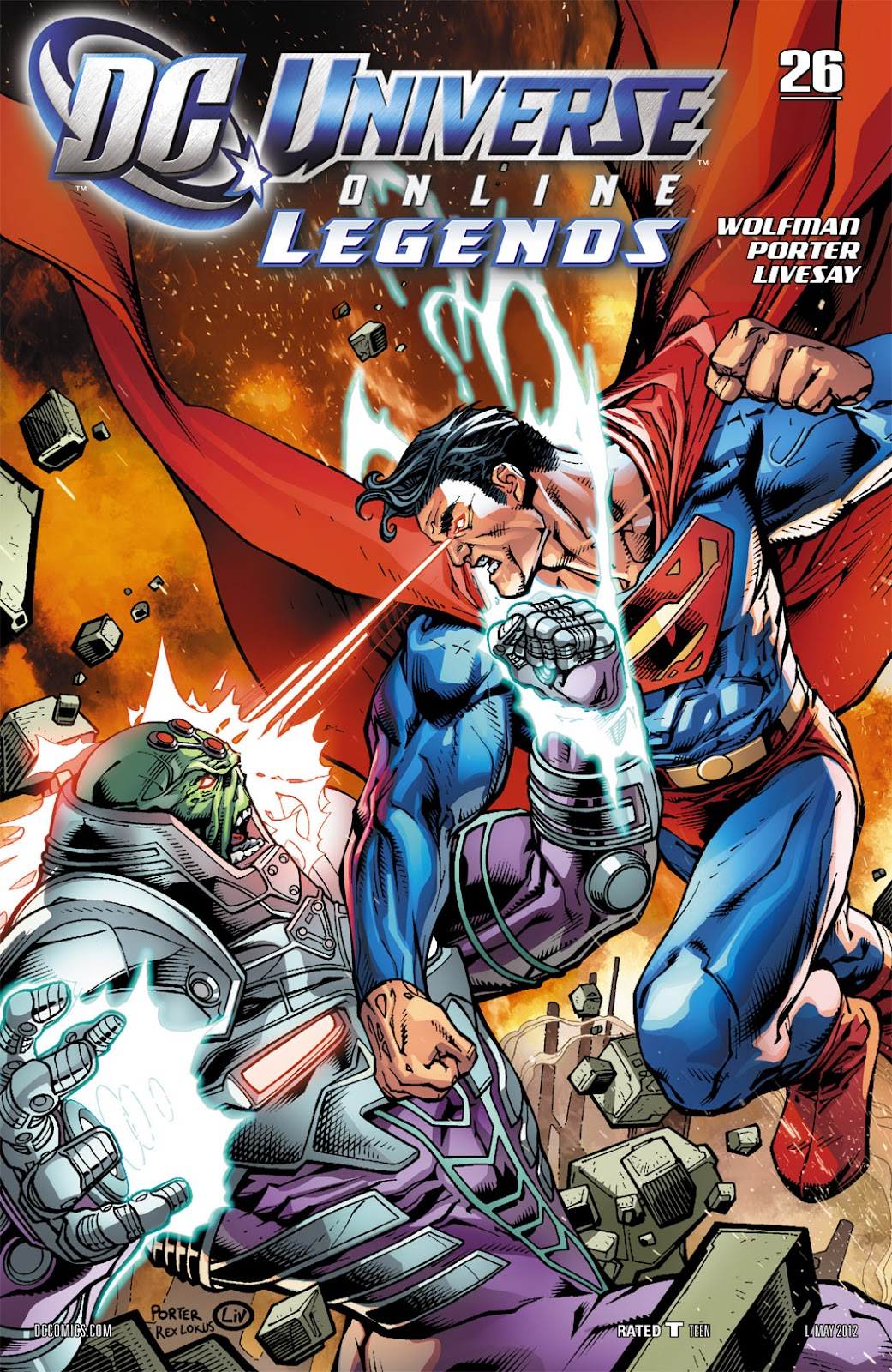 DC Universe Online: Legends issue 26 - Page 1